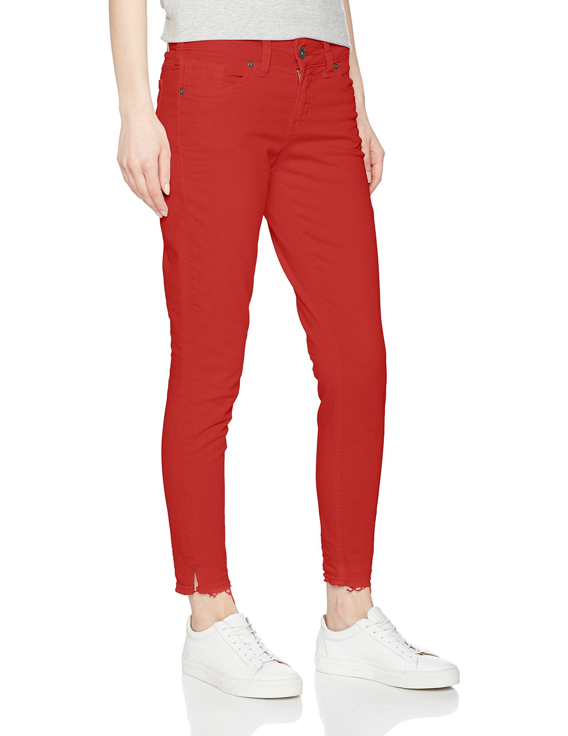 Silver Red28w Elyse 27l Jeans Jean SkinnyRougeburnt X Femme 4A3Rj5L