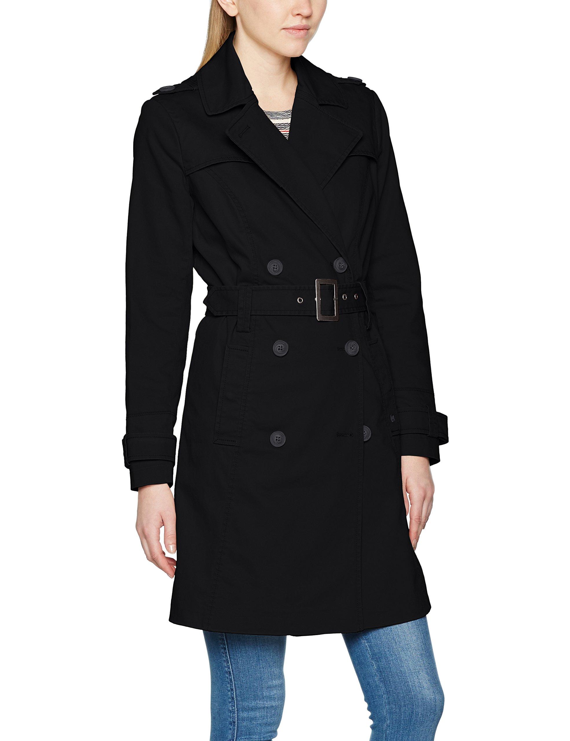 Brandit Girls ManteauNoirblack Trenchcoat 2Small Femme wOPN80vmyn