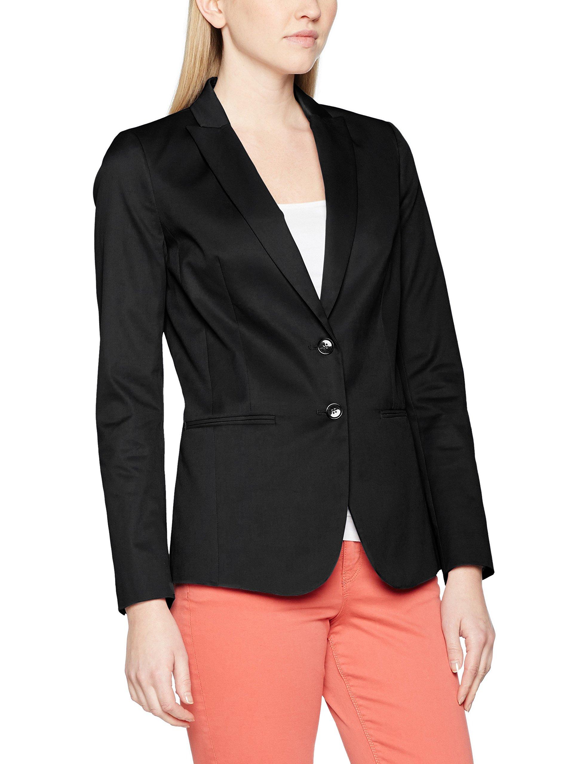 Fabricant44Femme Benetton Slim Classic BlousonNoirblack12taille Colors United Fit Suit Of Jacket DE29HI