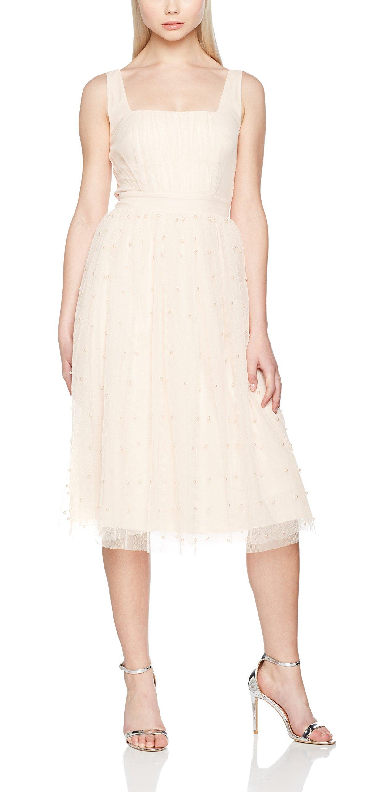 Femme Mesh Fabric Little RobePinknude42 Mistress Pearl yb76fg