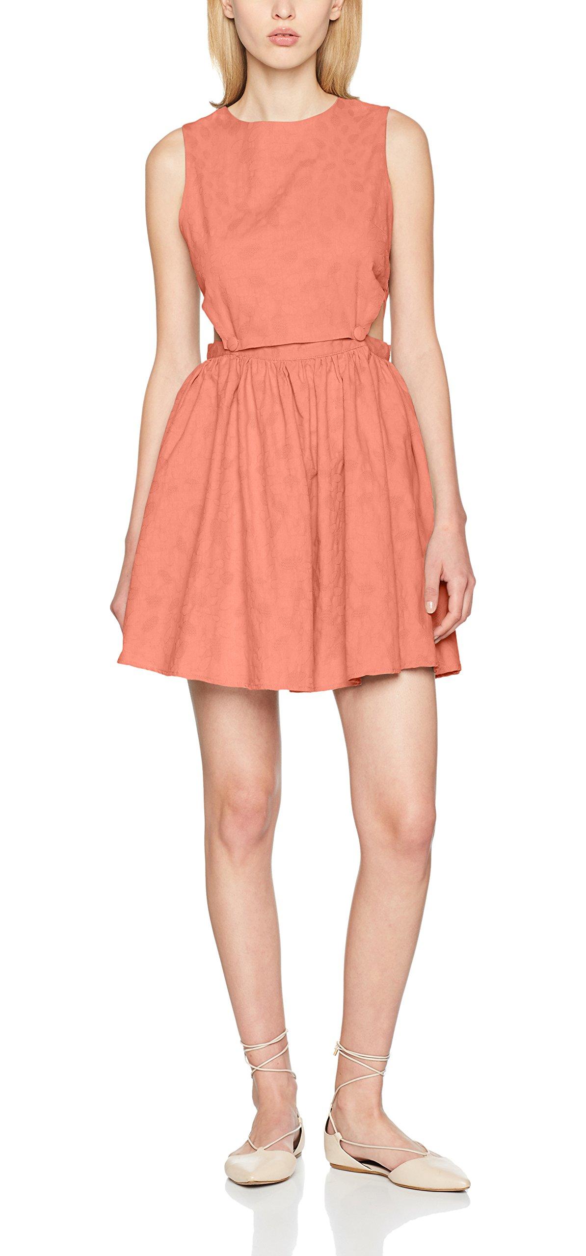 Pepaloves Zulema Orangepeach 108356Xs Femme Dress Robe nm80Nw