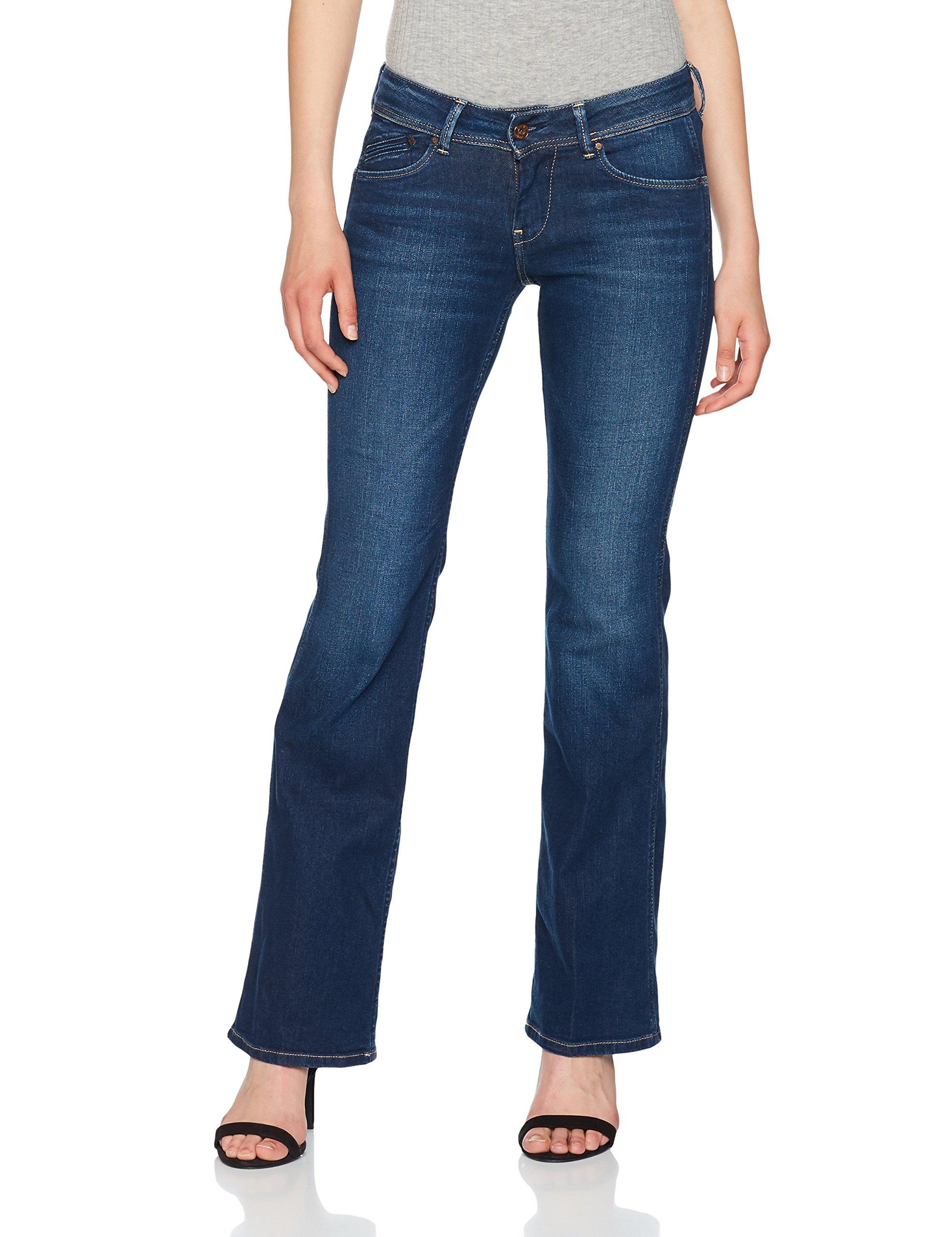 Jean D'éléphantDenimdark Pattes Pl200024 À Pimlico Jeans Femme Pepe UsedW26l32 34Ajq5cRL
