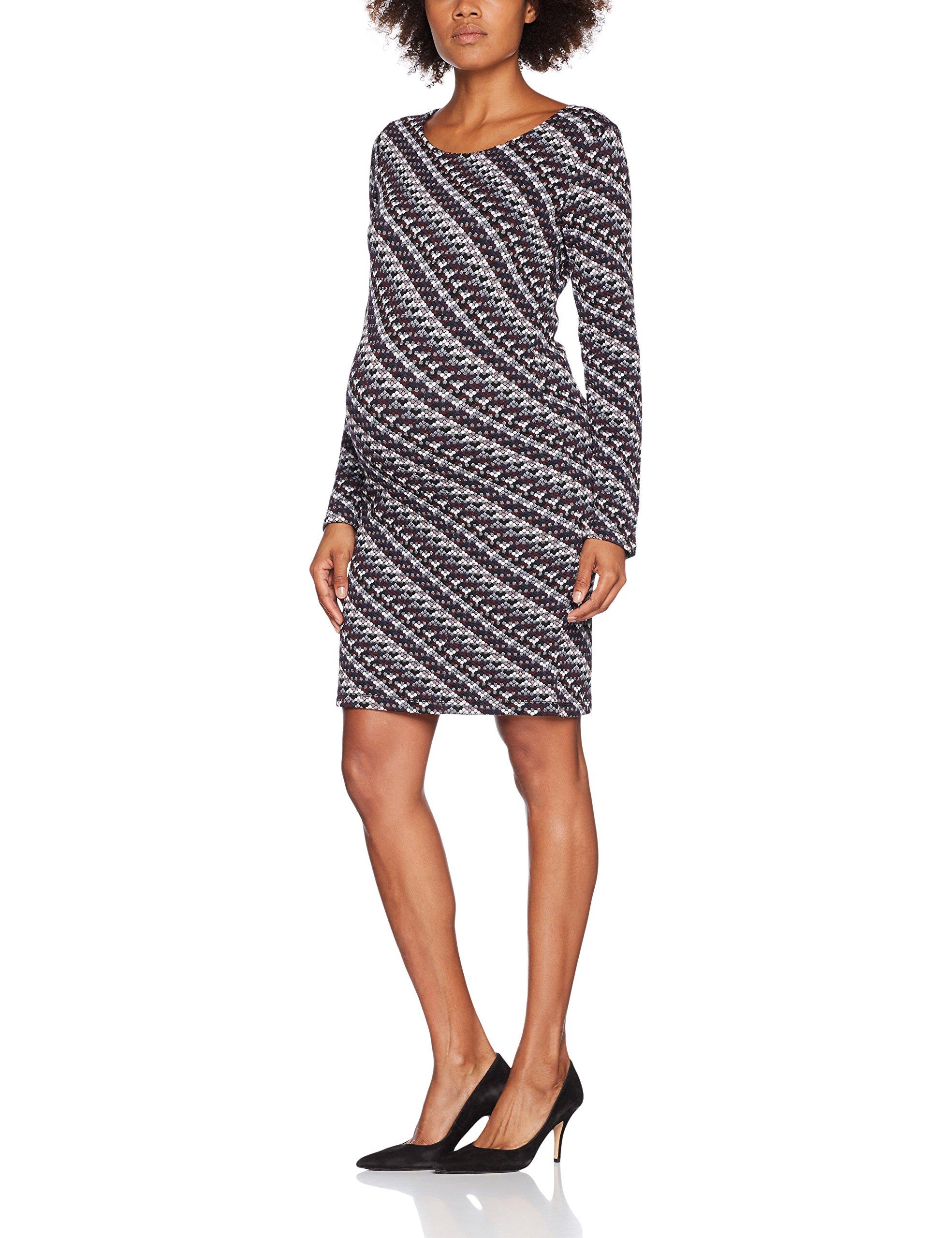 IndyRobe Ls C12542taille FabricantL maternité Noppies Dress Purple FemmeMulticoloredark MVGUjLzSpq