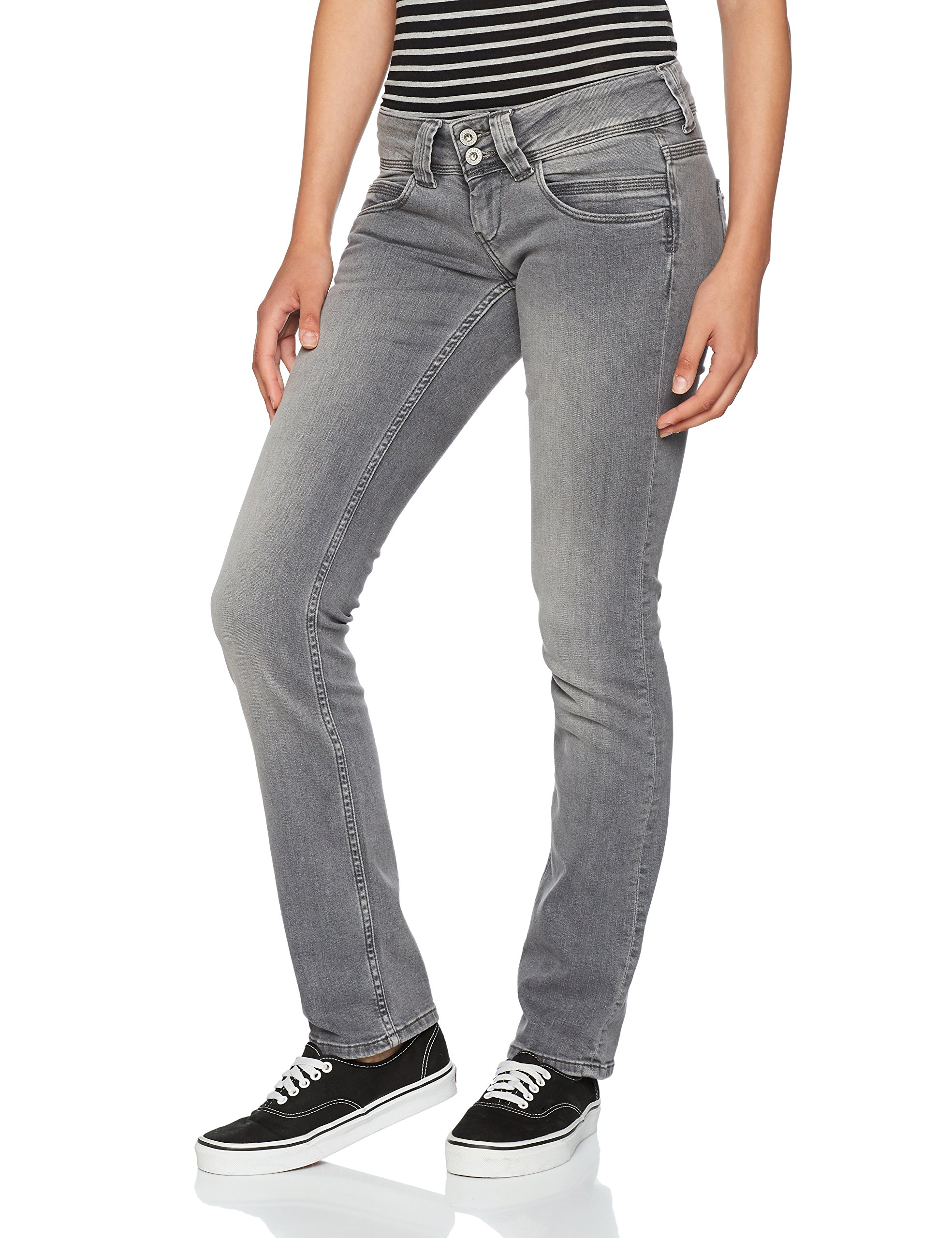 Femme Jean GrisdenimW44 Venus Droit Fabricant l32taille Jeans Pepe 33 PiXZuk