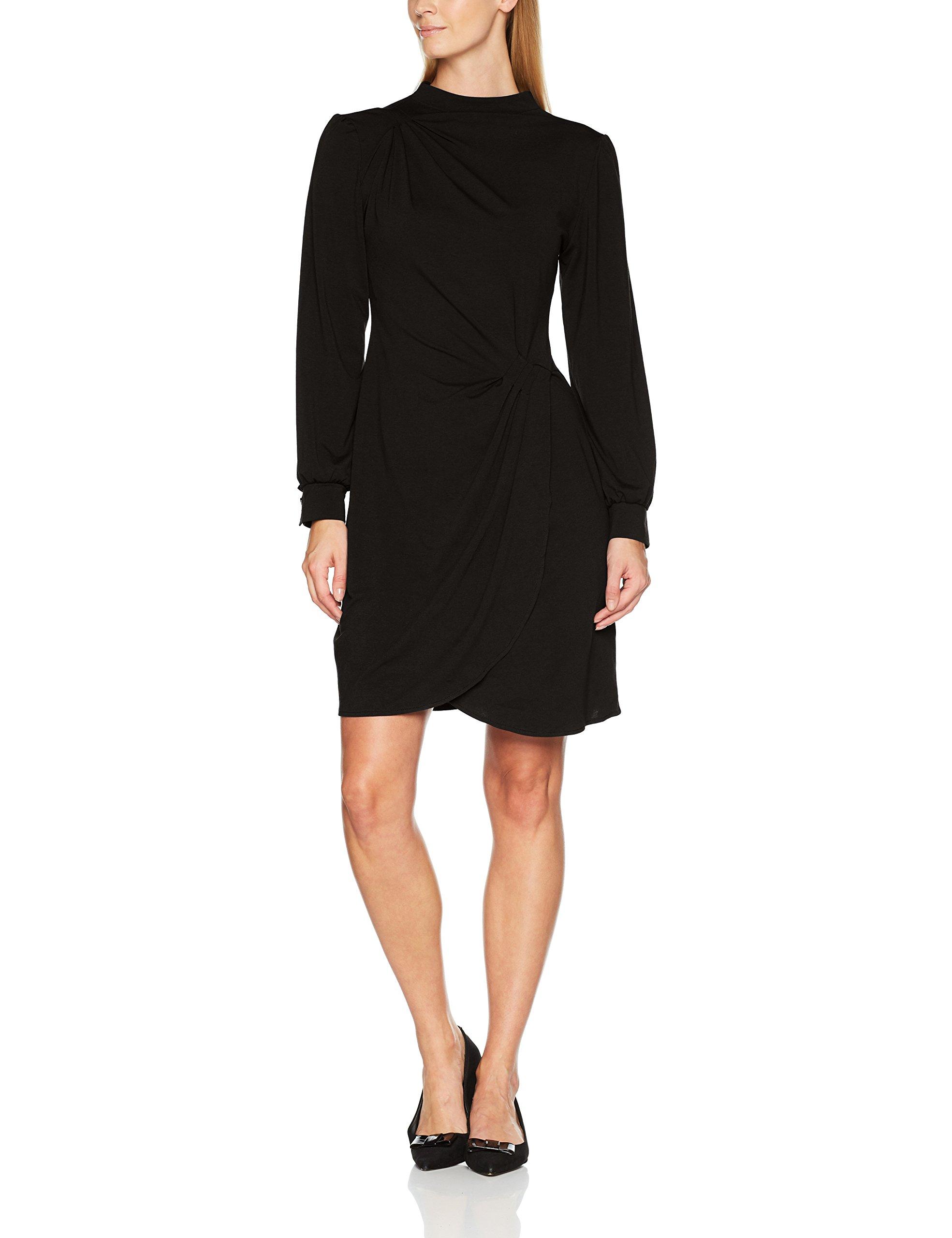 Dress RobeNoirblack Femme Hotsquash Agnes 6046 WEDIH2Y9