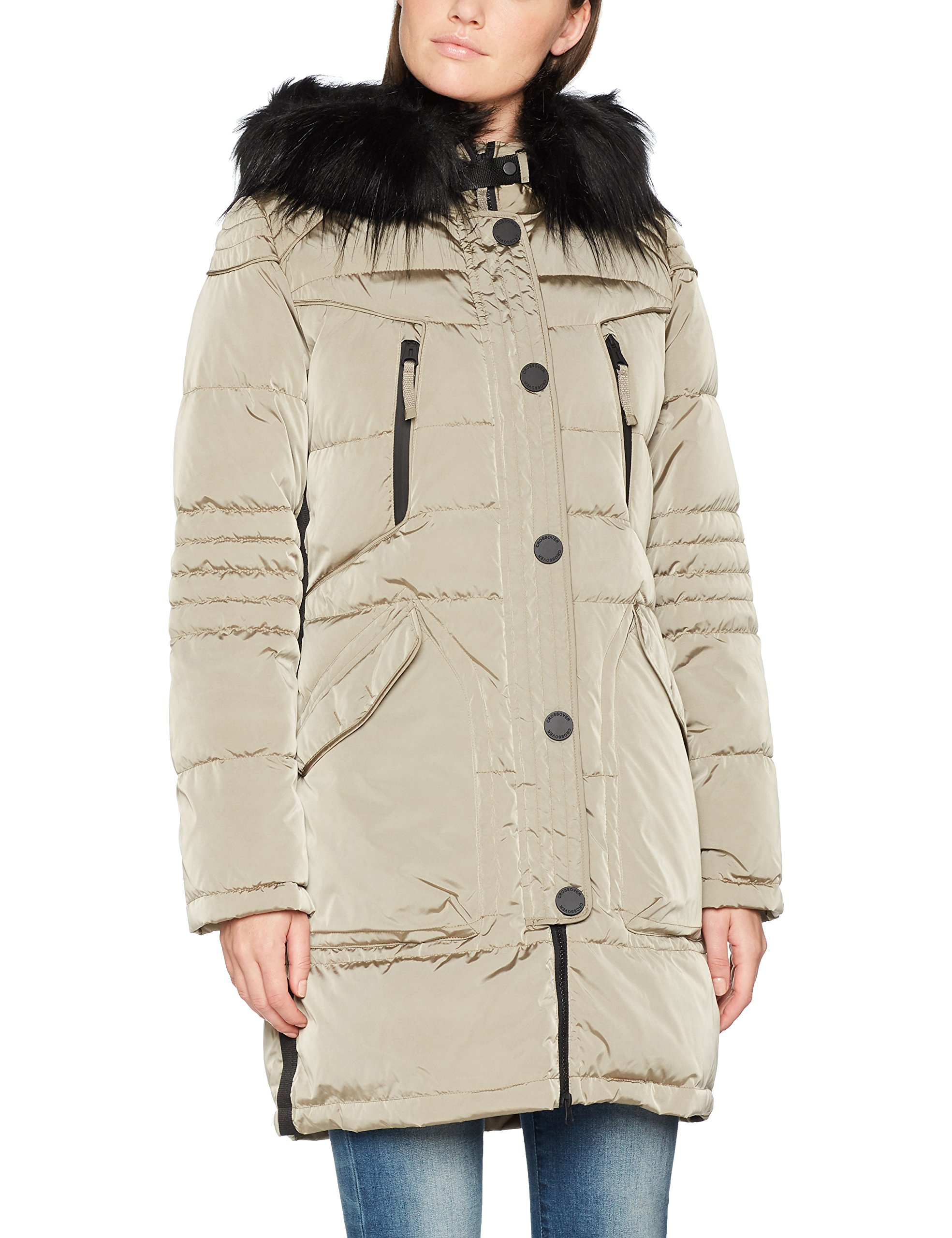 ParkaBeigedesert 731542 9528 Barclay 4325 Betty Femme Taupe EYHeD9IW2