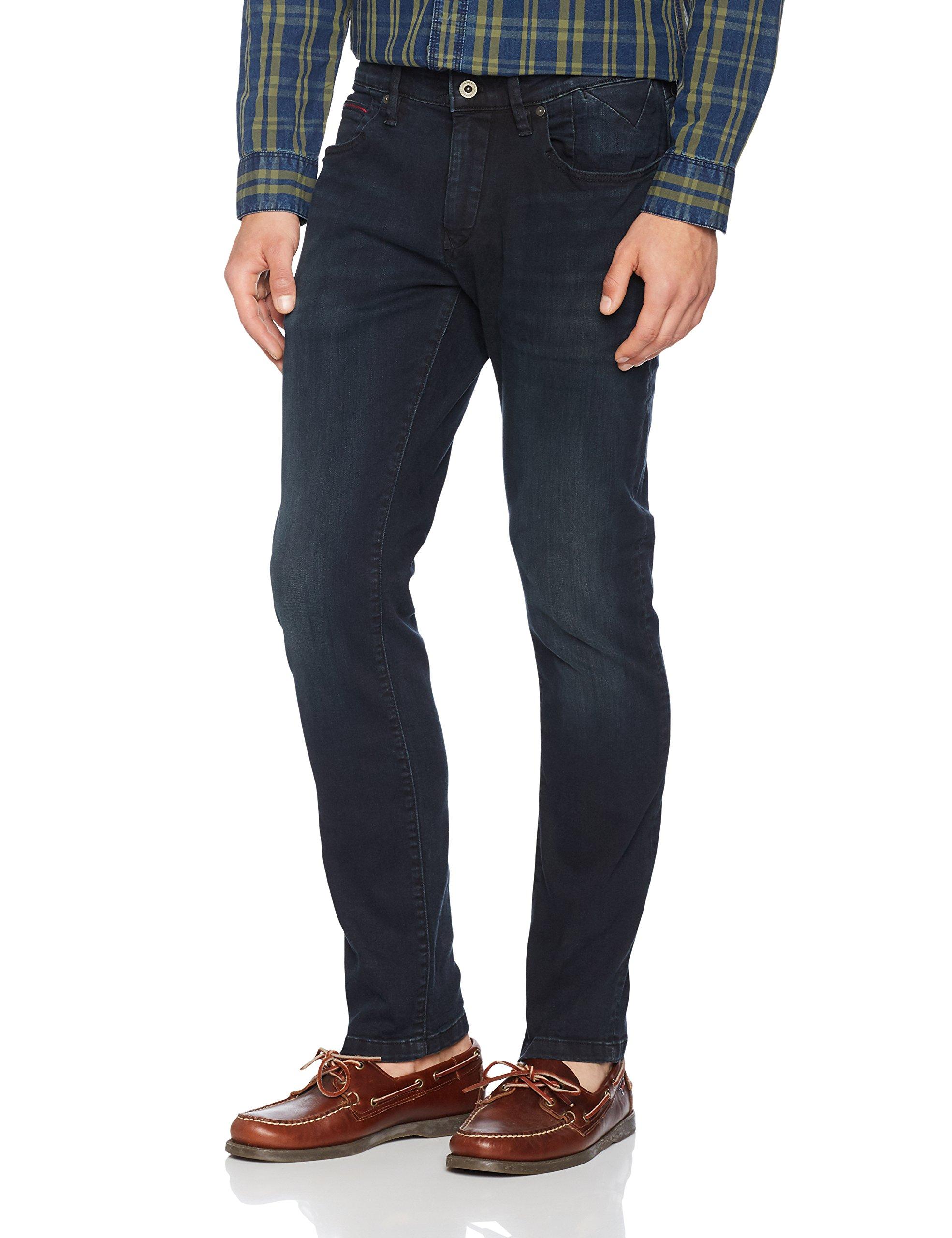911W34 Jeans Tommy l32 Cobco Homme Slim Scanton Noircobble Black Comfort 0OnwP8kX