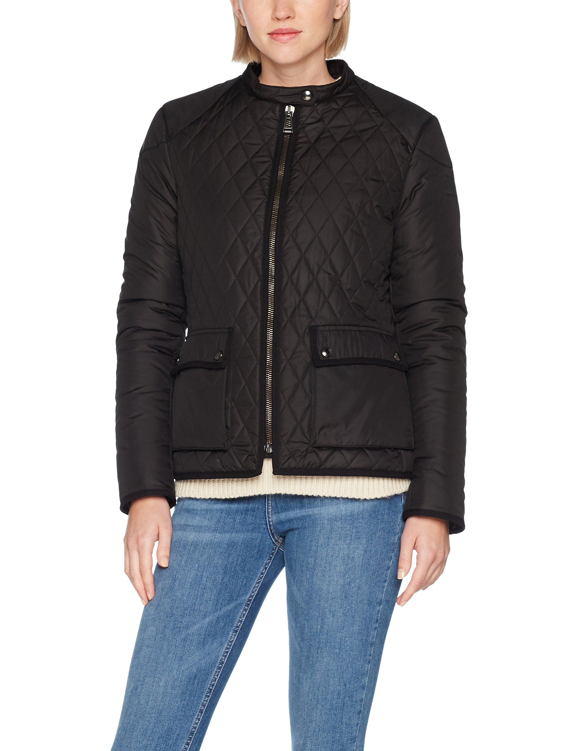 WomanBlouson 9000048 Jacket Quilted Belstaff Randall 0 2 FemmeNoirblack yv0wONm8nP