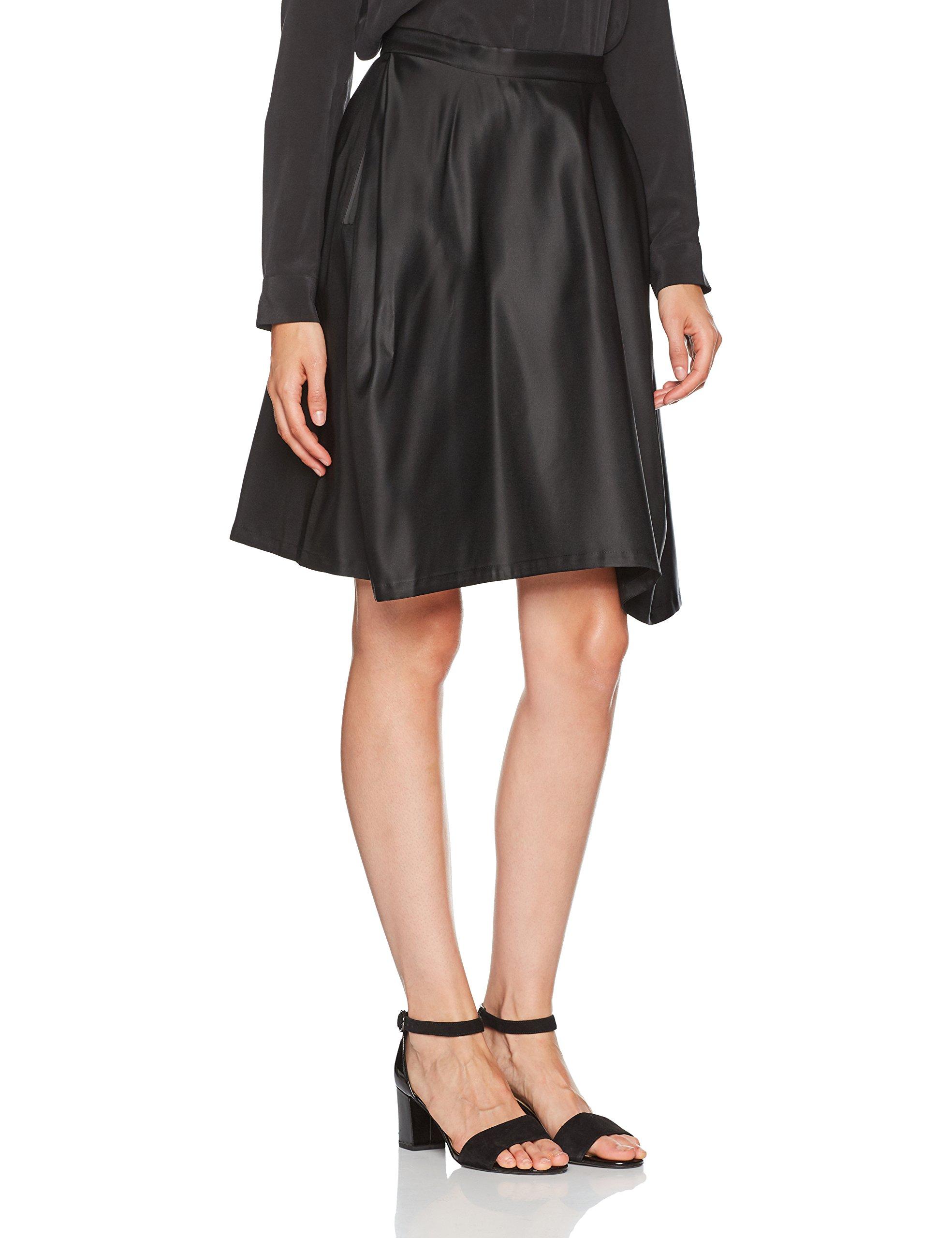 Skirt Full Du Jensen taille Peter FabricantLargeFemme JupeNoir Black42 JFclK1