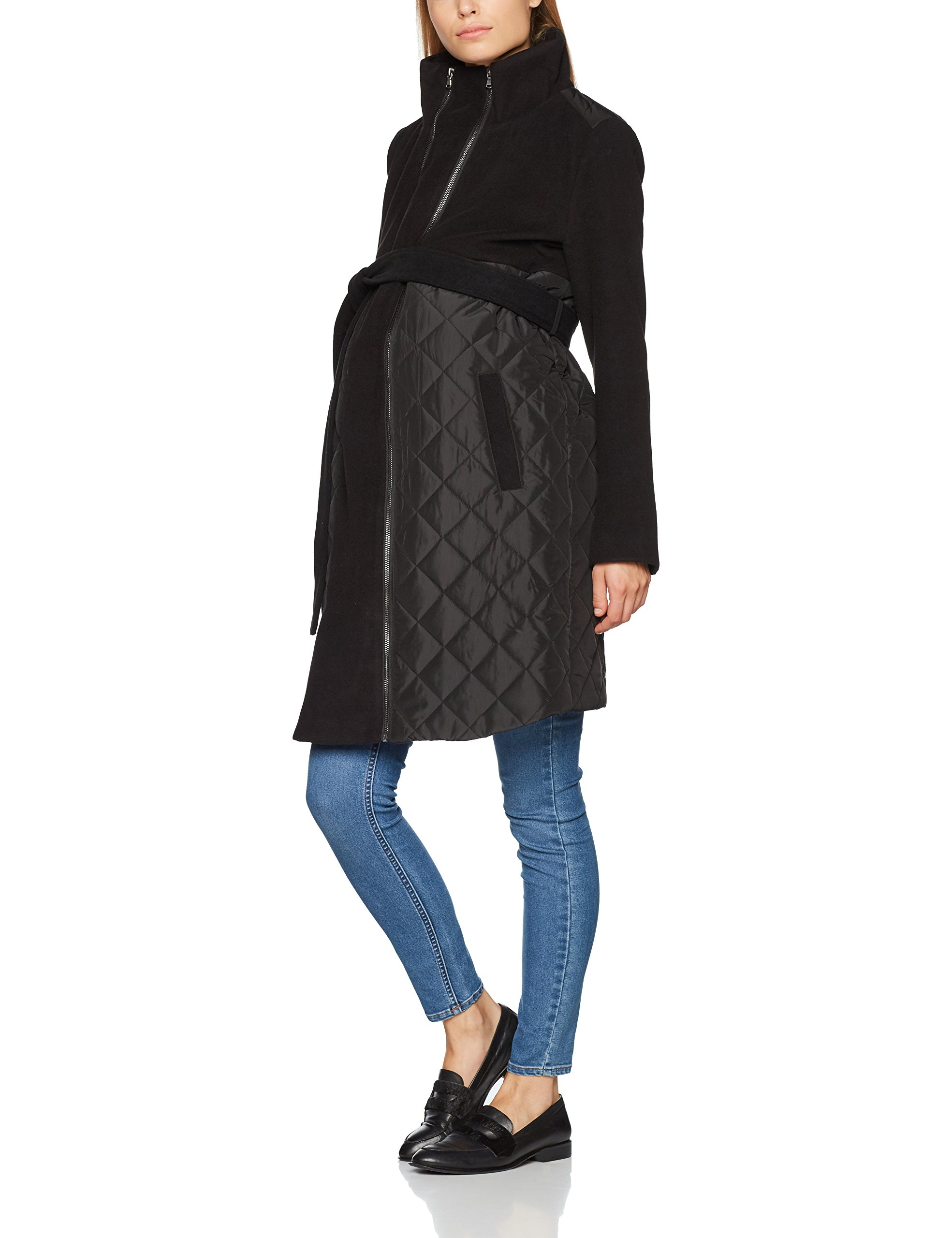 Black38taille vêtements FabricantMediumFemmes Mix Mlnewgiggi Mamalicious VesteNoir De Maternité Jacket Tikka FcJlK1