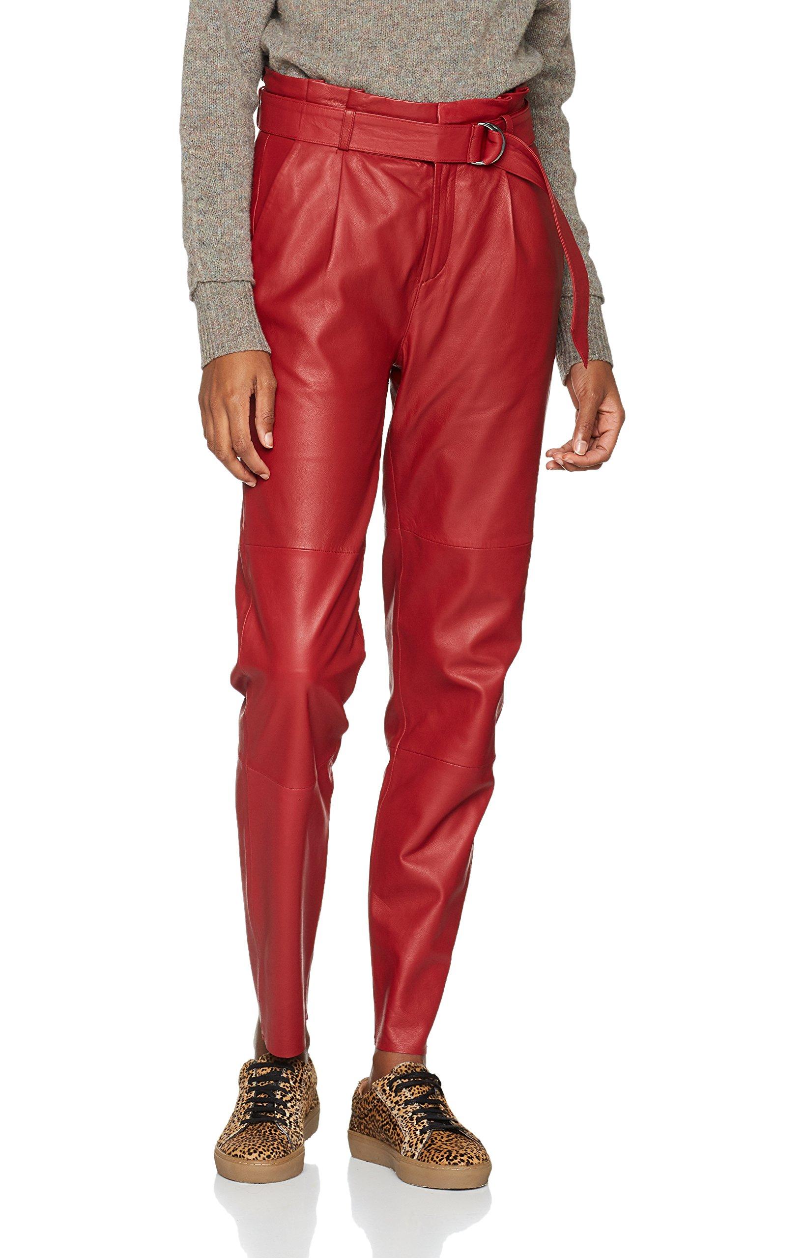 Pants l33 Ma17 90314W27 Gestuz PantalonRougemerlot Femme Beth E2WHID9