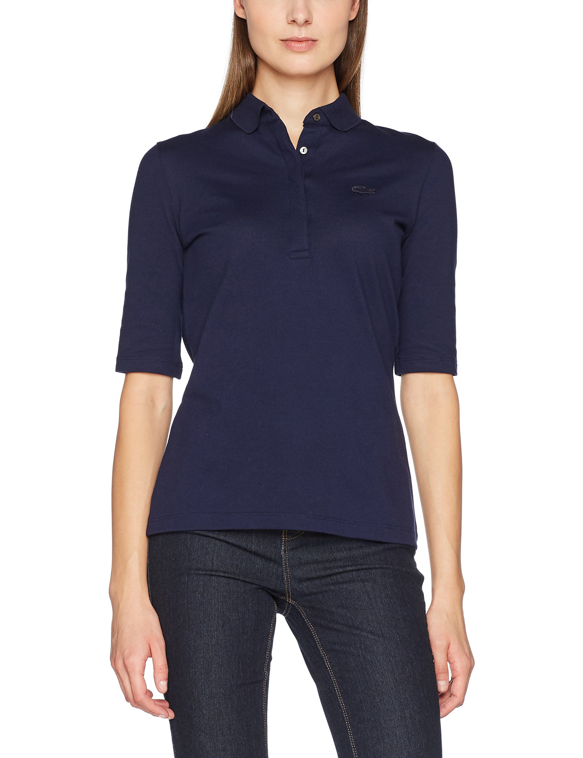 Pf7844 Pf7844 Fabricant42Femme Lacoste Lacoste PoloBleumarinetaille kX80OnwP