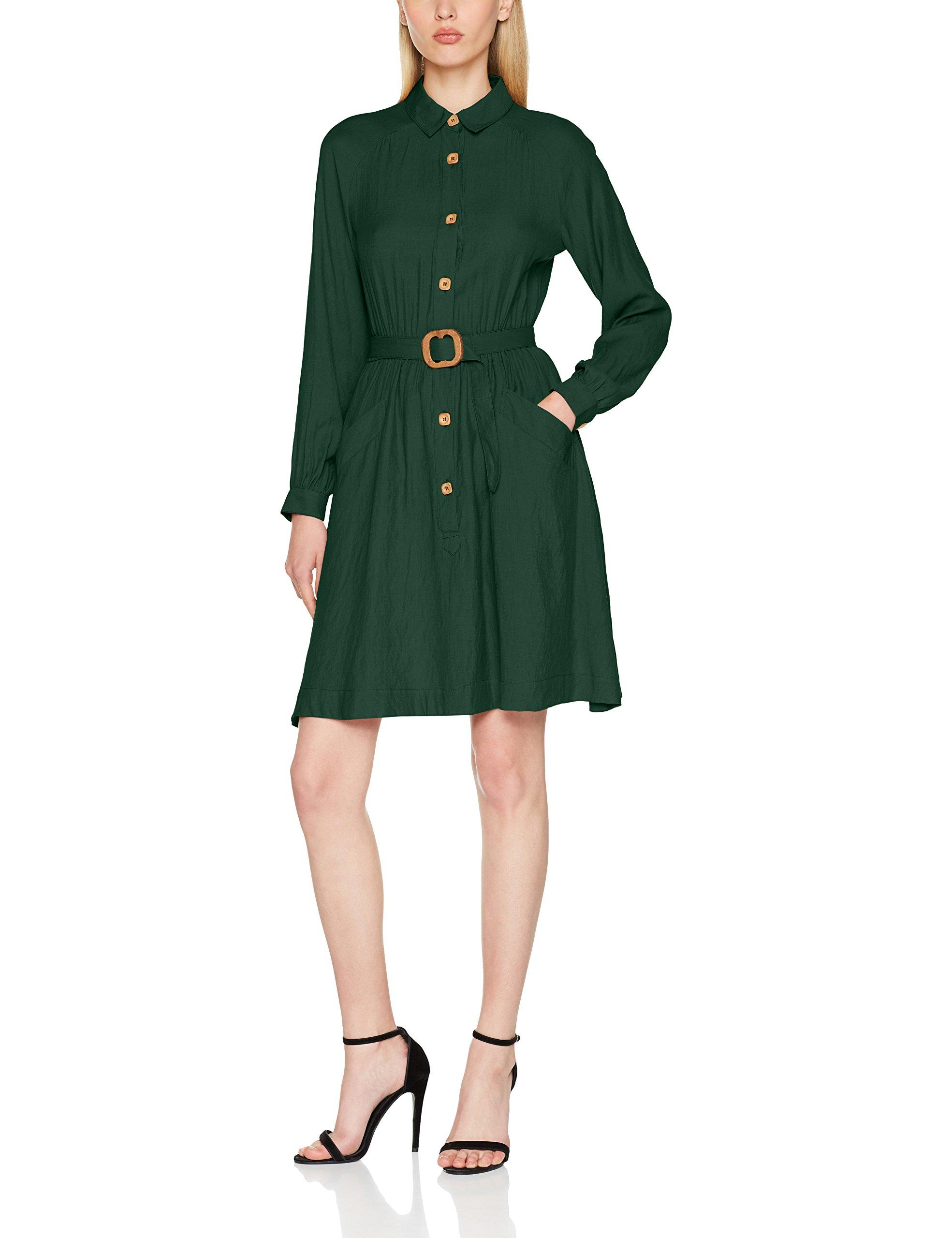 Dress Robe Pepaloves Salma largeFemme Fabricant Green DécontractéeVert 042 taille OPkZiuwXT