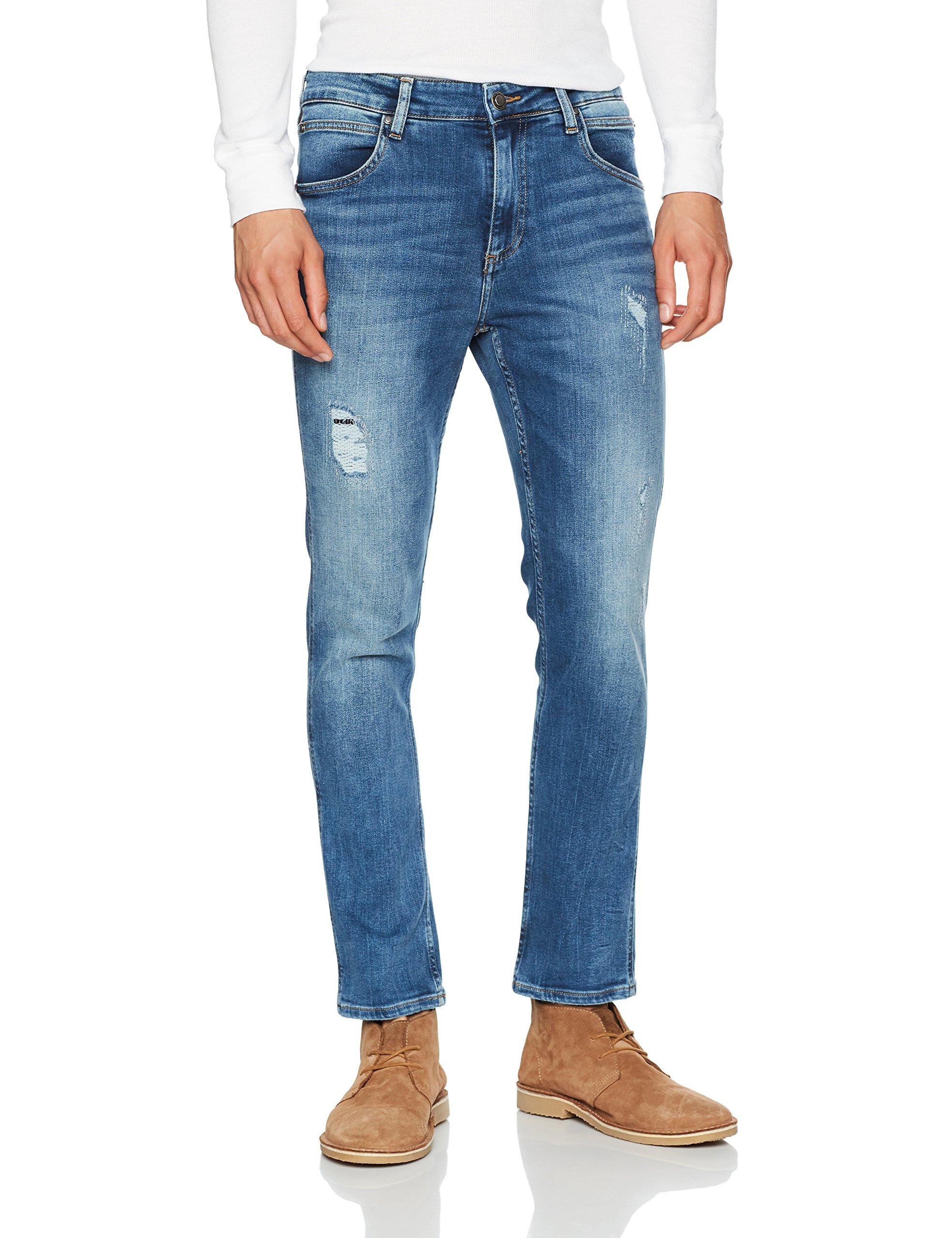 SatuSlim DestructedW33 Blue Klein Jeans HommeBleusaturn l30 Calvin yY7vbfg6
