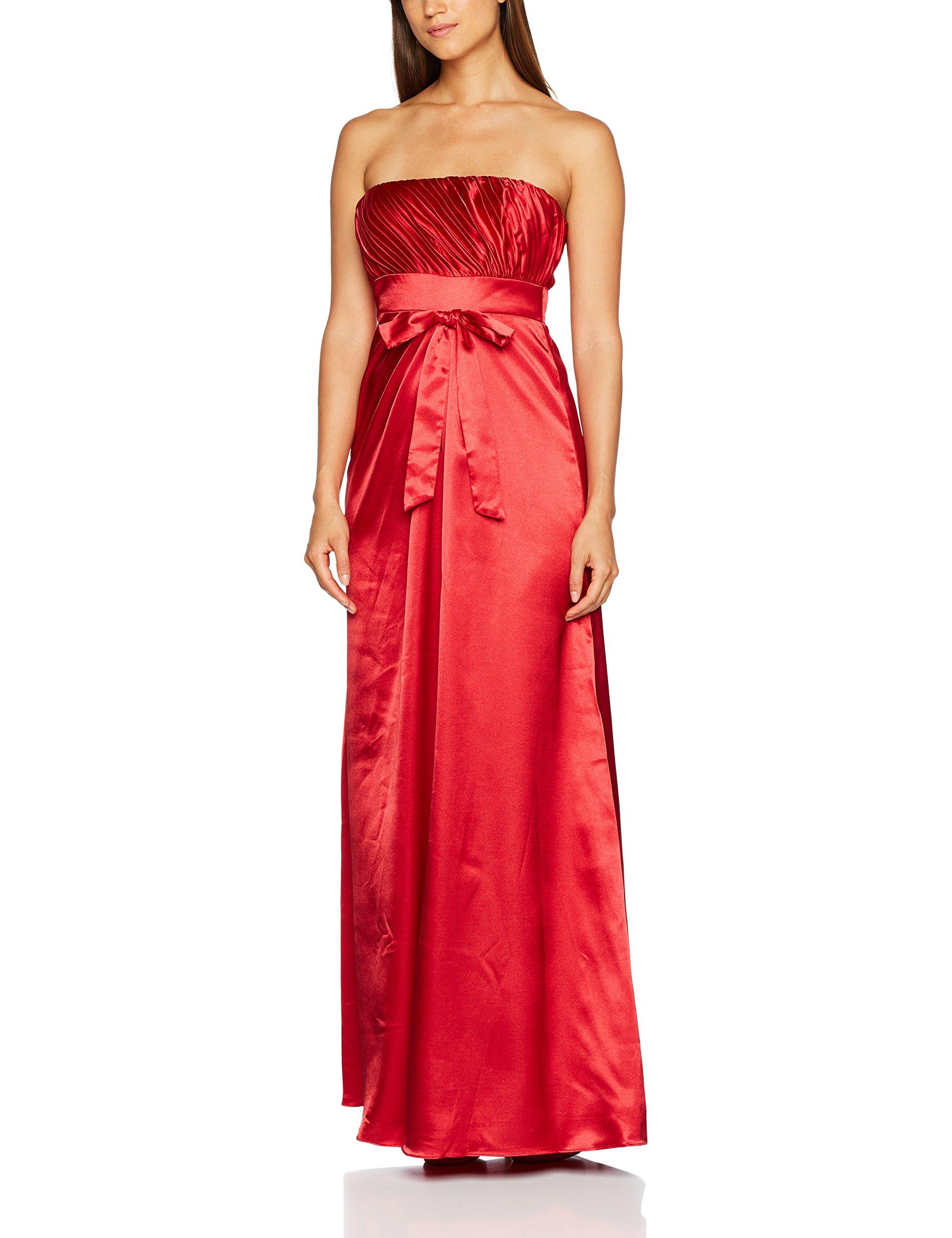 AstrapahlRobe Sans Femme Rouge Empire Taille 44 Manche VMUqzSp