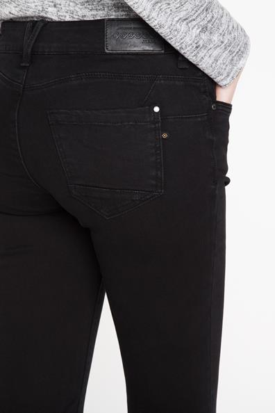 Jeans Noir Slim Femme 34 ElasthanneTaille Bonobo lFK1cJT3