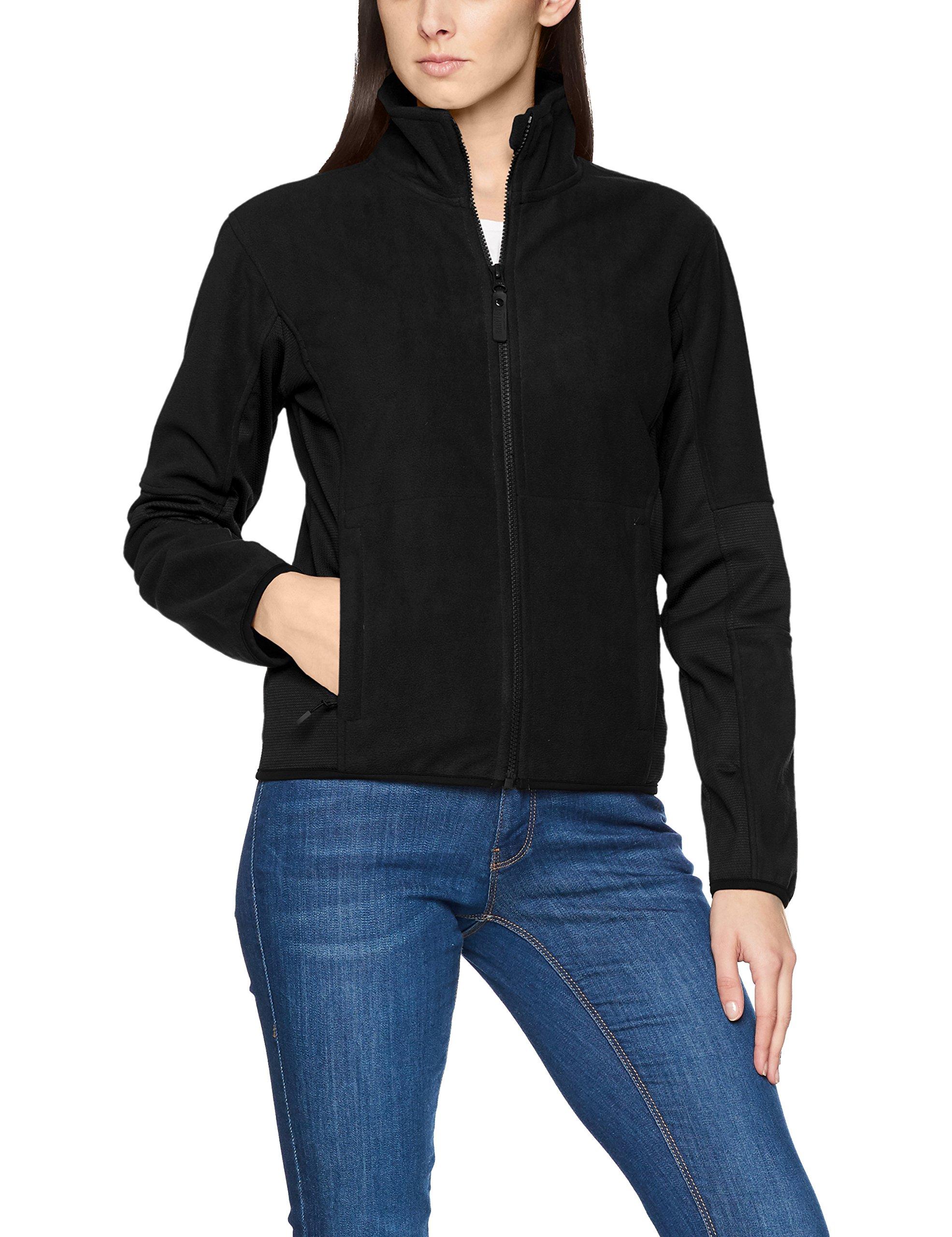 Full BlousonNoirblack Femme Harvest Sarasota Jacket James Zip Fleece 90038 OXZPiuTwk