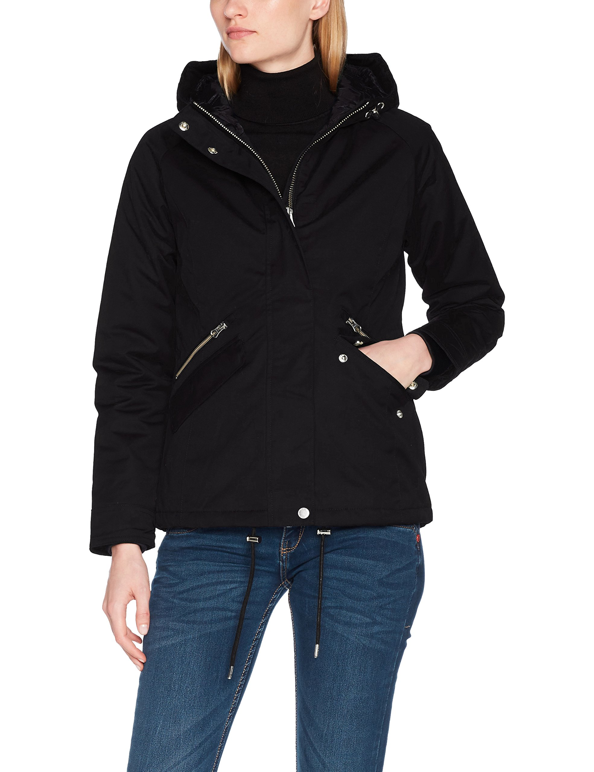 Femme Harvest Jacket Coat James Rockingfield 044 Ladies BlousonNoirblack 900 lFcK1JT