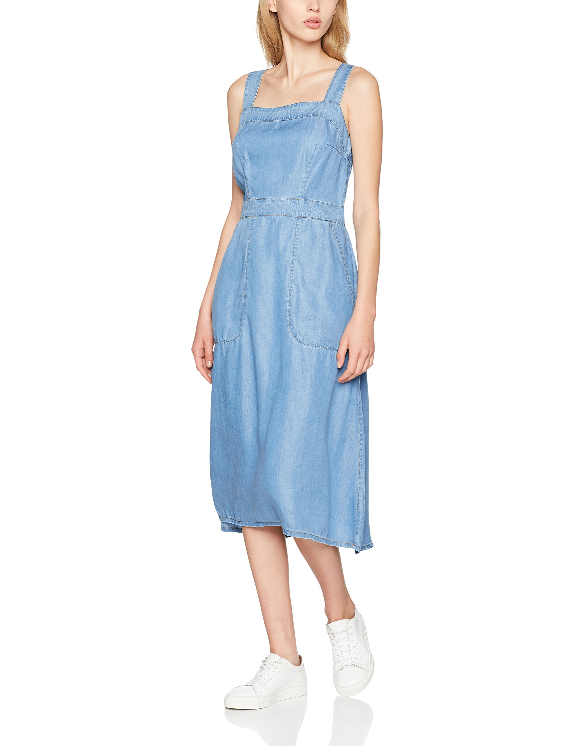 Fabricant Great Wendy Pinafore Wash40taille mFemme Plains Washed Dress RobeBleuantique yvOmN8n0w
