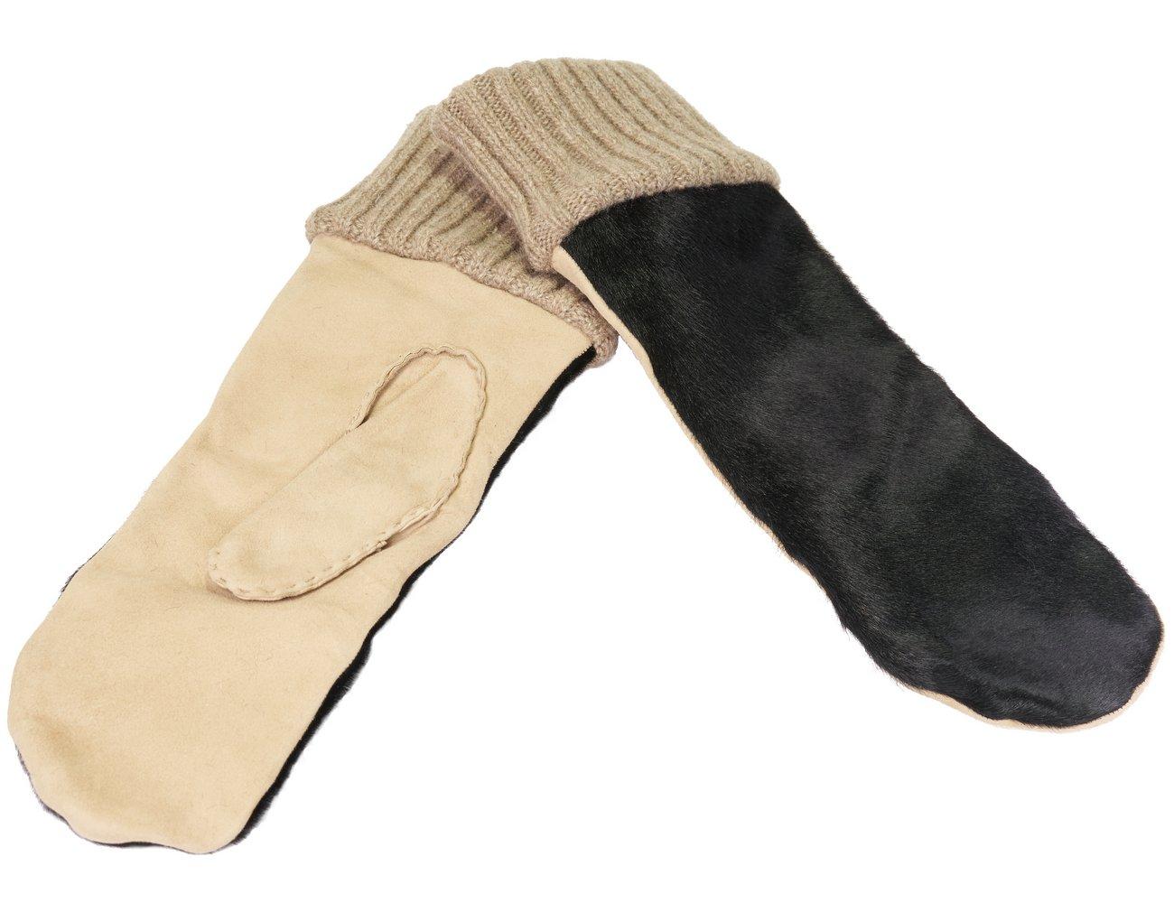 blackMedium Gloves Mitten MitaineMulticolorebone Merola Femme D2IEH9WY