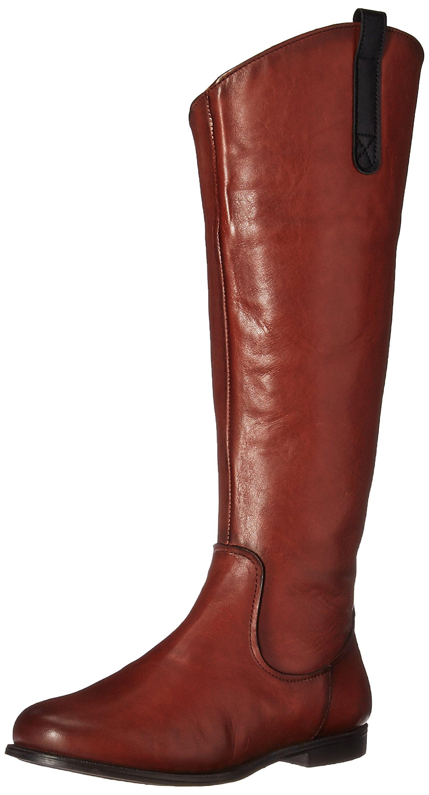 Sebago Leather38 BootBottes Cavalières Tall Plaza Eu FemmeMarroncognac Yfyv6b7g