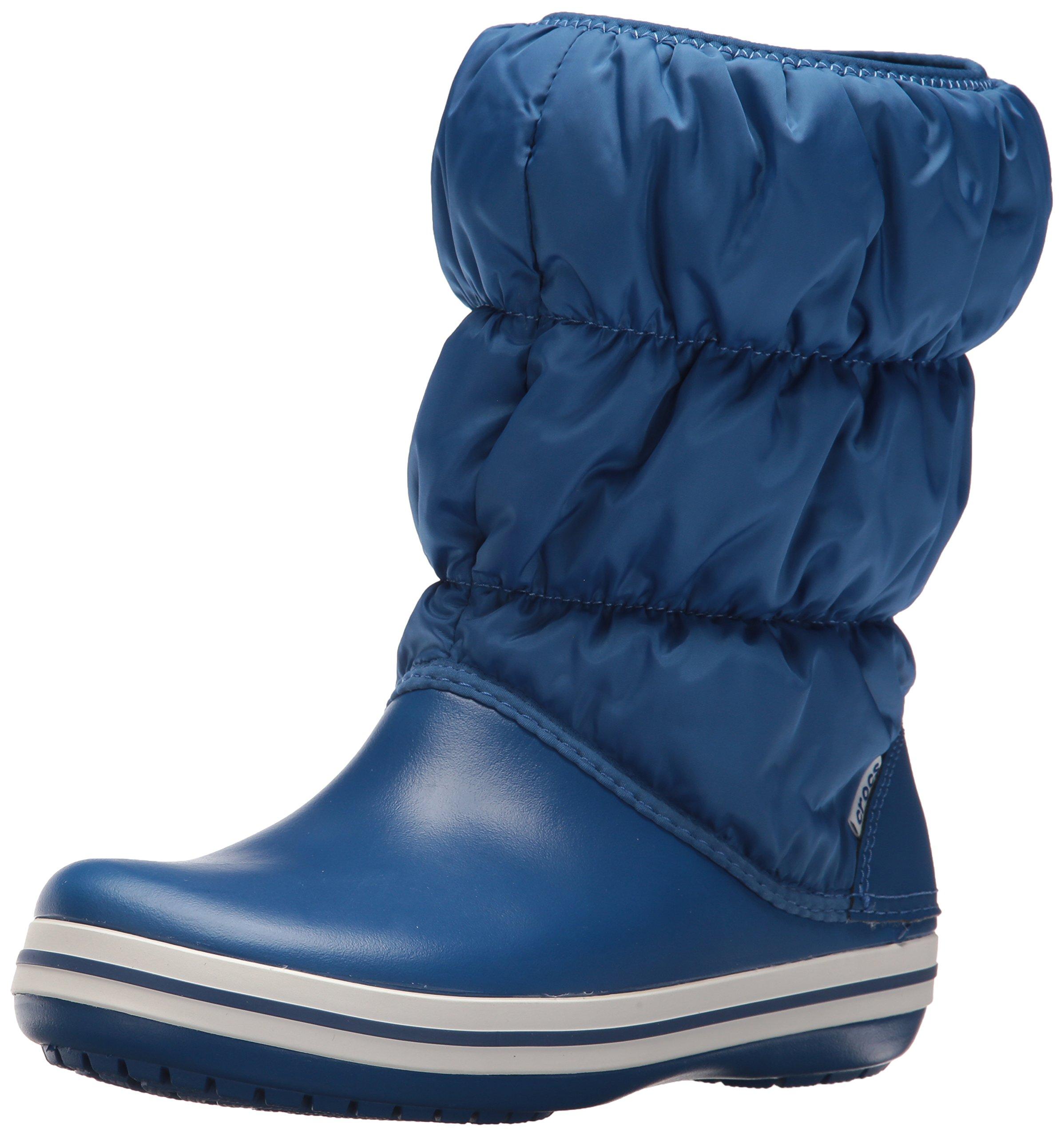 Puff FemmeBleublue Eu WomenBottes Crocs Winter blue Jean39 40 Boot Jean UpGqSLzMV