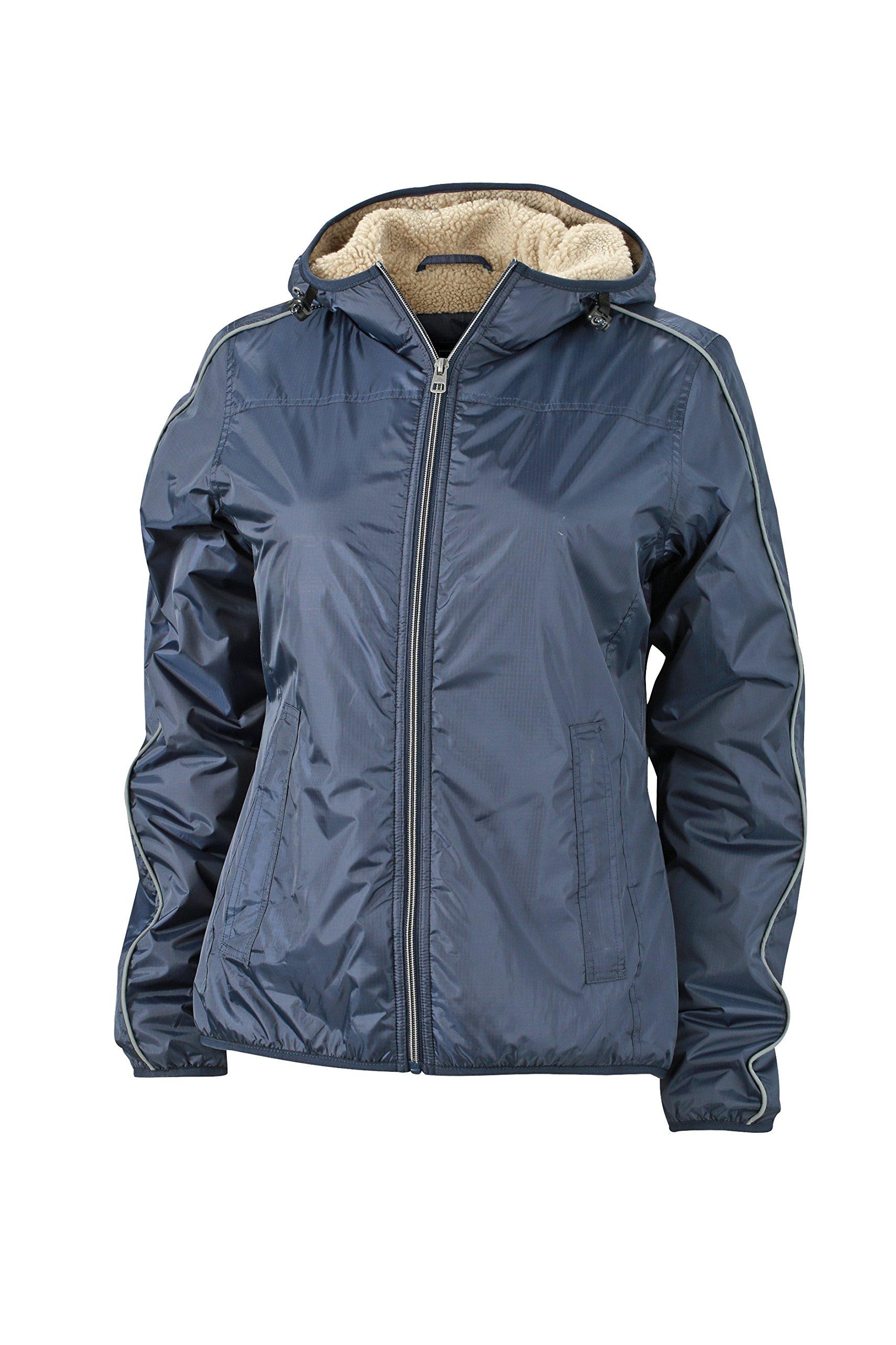 Jacke FabricantX Winter Jamesamp; cameltaille Sports FemmeBleunavy large Blouson Jacket Nicholson m8w0Nn