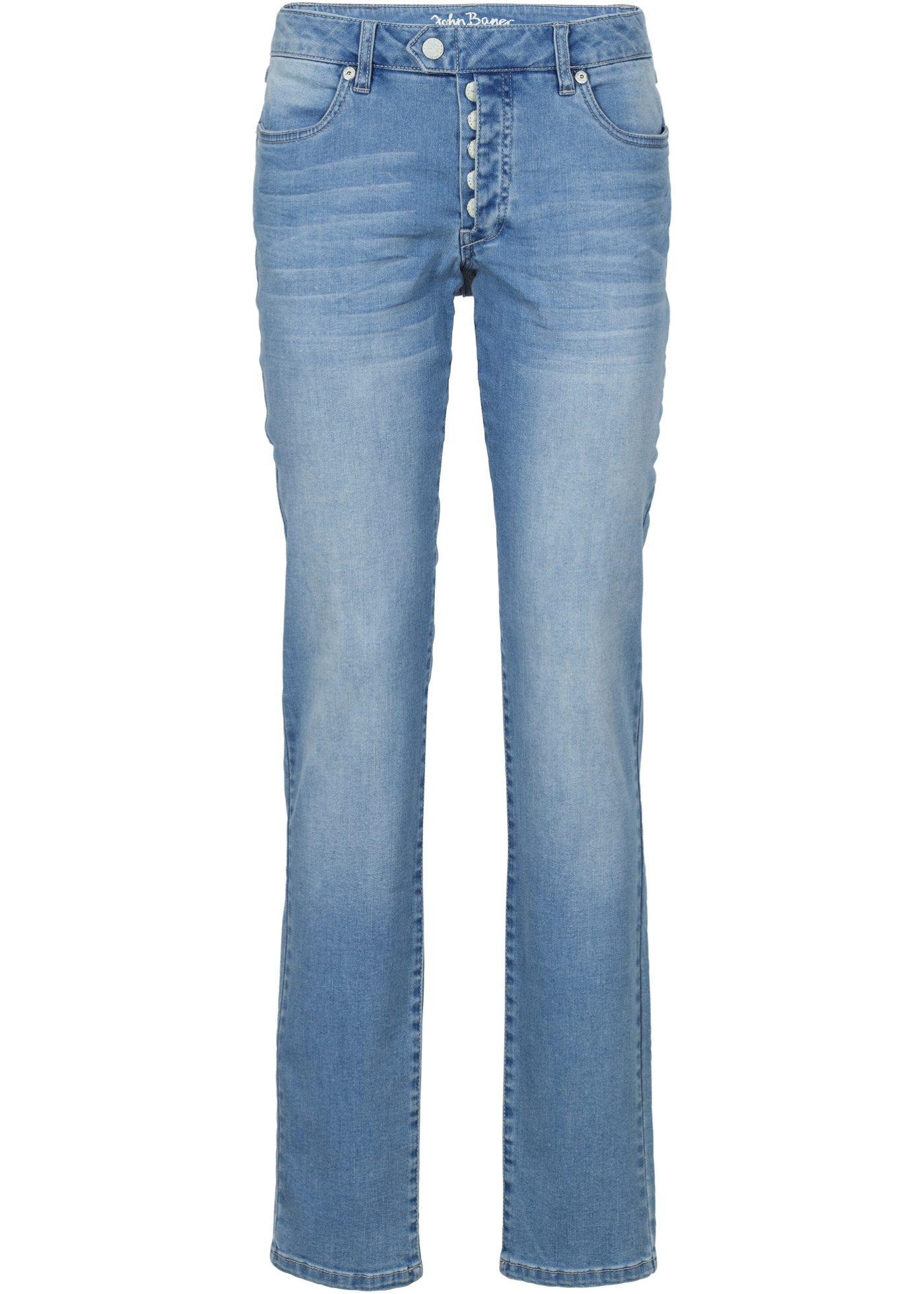 Jeanswear John Pour stretchBoyfriend BonprixJean Femme Baner Multi Bleu wlPkZiOXuT