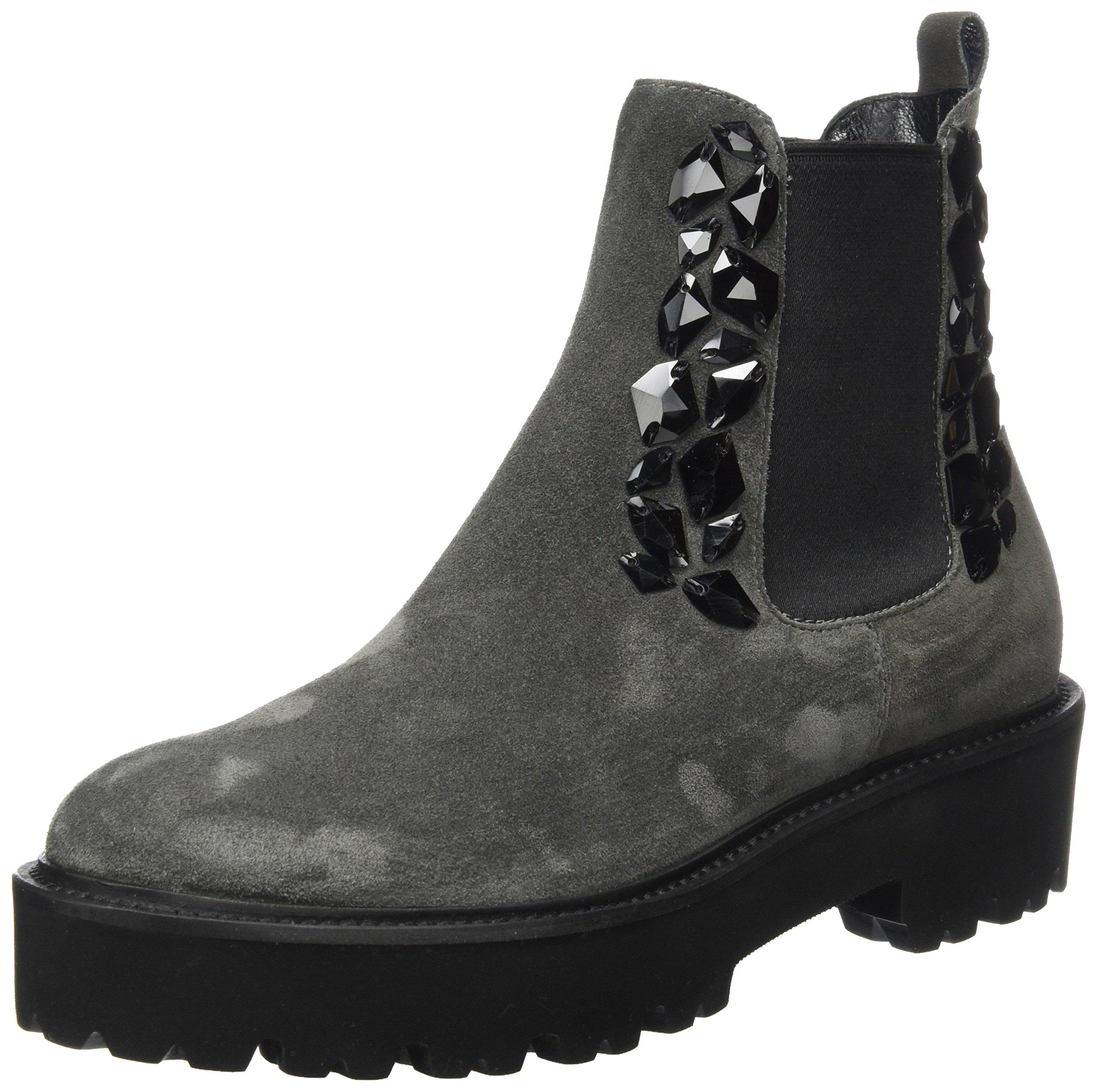 Eu Und black Schmenger 54739 Kennel Boots BobbyChelsea FemmeGrisantracite SzGqUVMp
