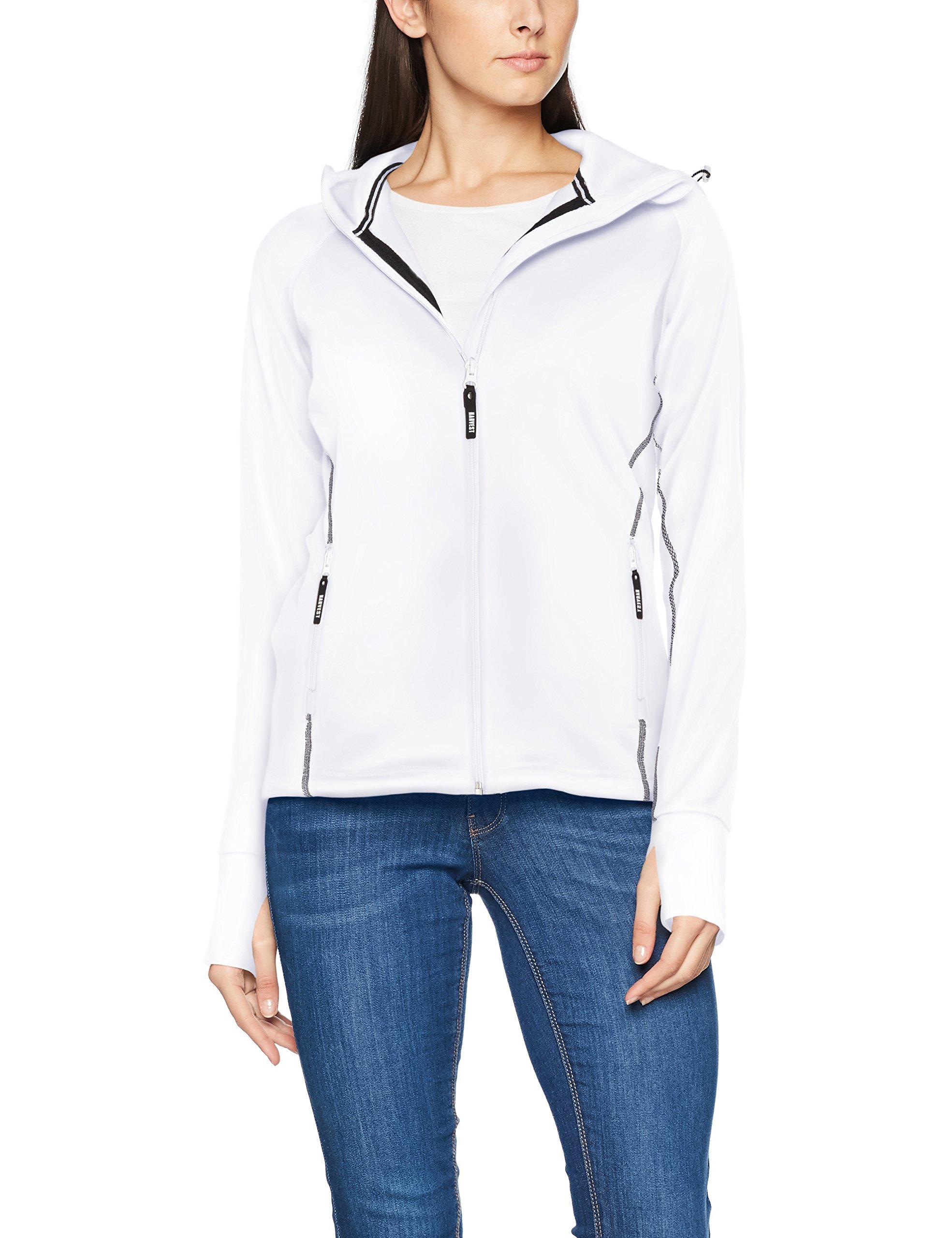 James Femme Northderry Zip 10034 Full BlousonBlancwhite Jacket Ladies Harvest Fleece stroQxdCBh