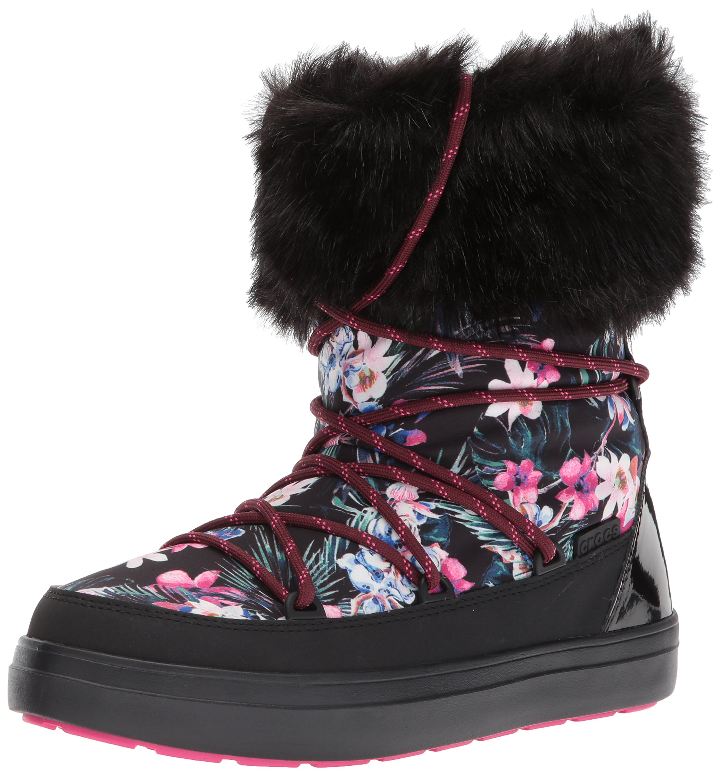 Lodgepoint Lace Eu 35 black34 Crocs FemmeMulticoloretropical Boot Graphic WomenBottes PkOTiZXu