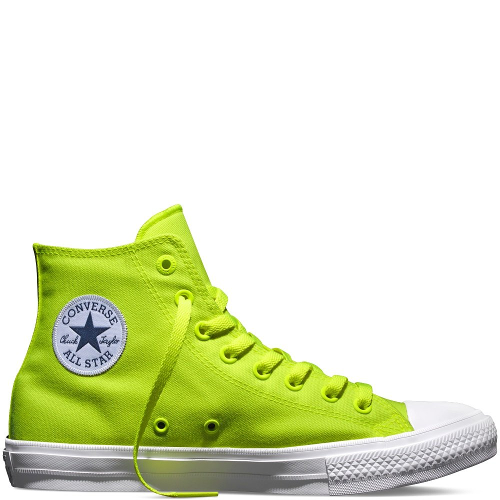 All AdulteVertvolt neon43 Green De Chuck white Converse Eu IiChaussures Basketball Mixte Star Taylor sxrdCQth