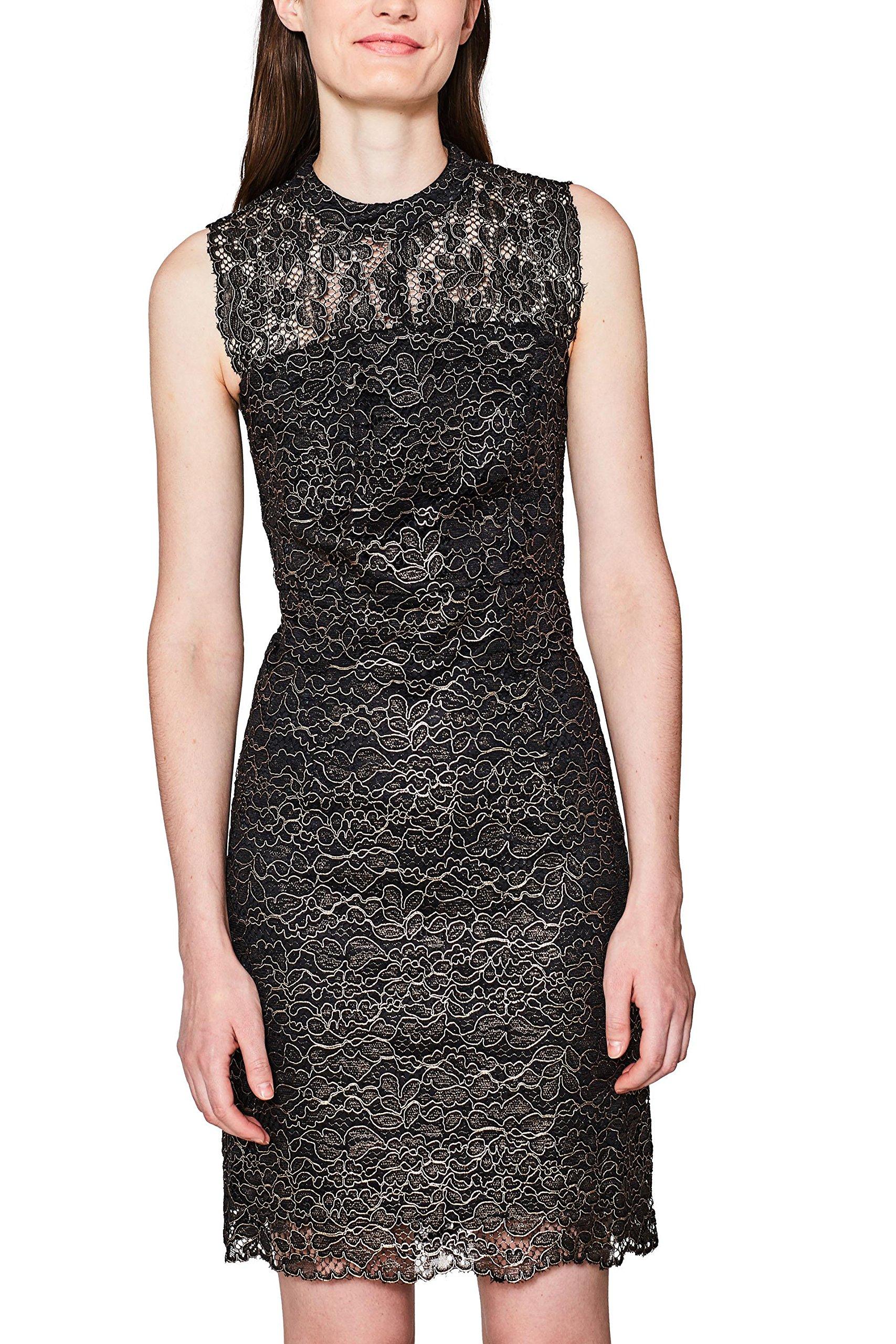 Collection 2 Esprit 00242 De Femme Robe 107eo1e016 SoiréeNoirblack q5cLSj3R4A