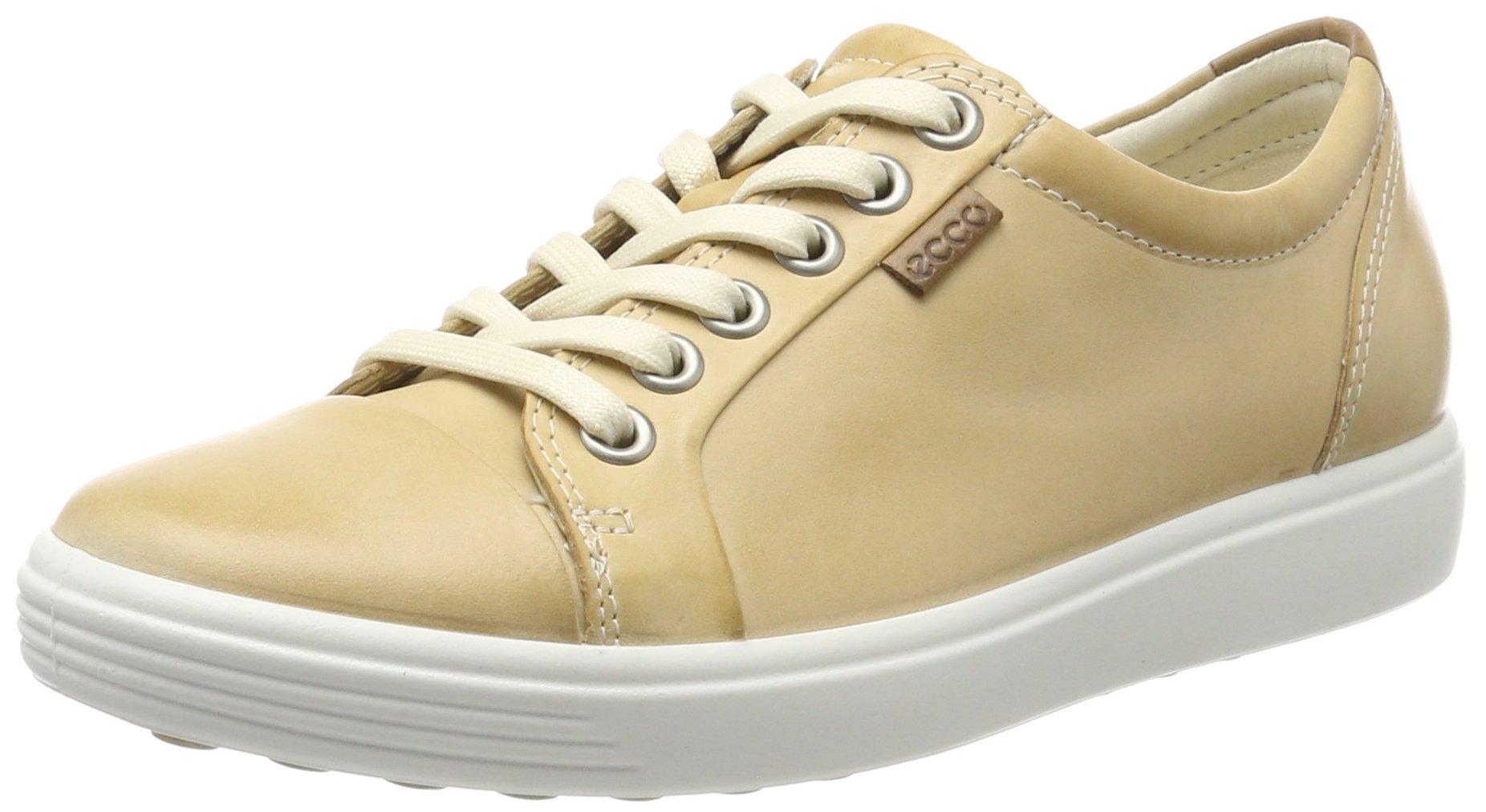 7 Basses Eu Soft FemmeBeigepowder42 Ecco LadiesSneakers QrdCBoExeW
