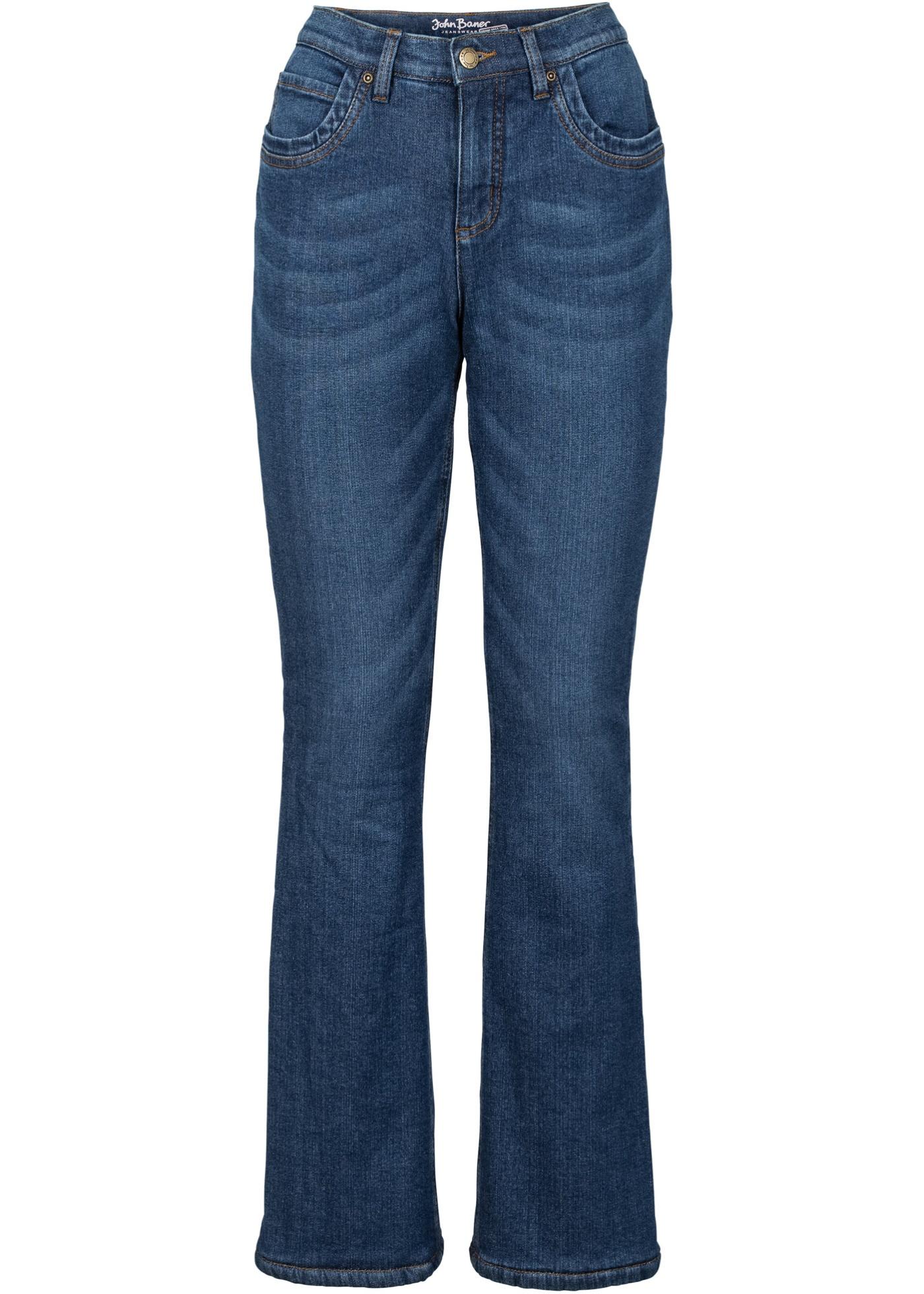 John Extensible Jeanswear Bootcut Thermo Bleu Pour Baner BonprixJean Femme 5ARjLq43