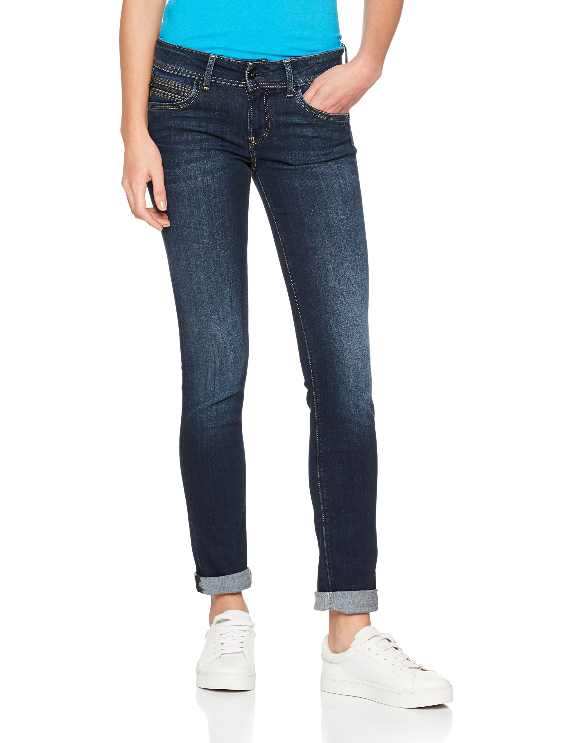 Jeans New Ultra BrookeFemme Stretch Denim10oz DkW32 l30 Pepe DH9IYWE2