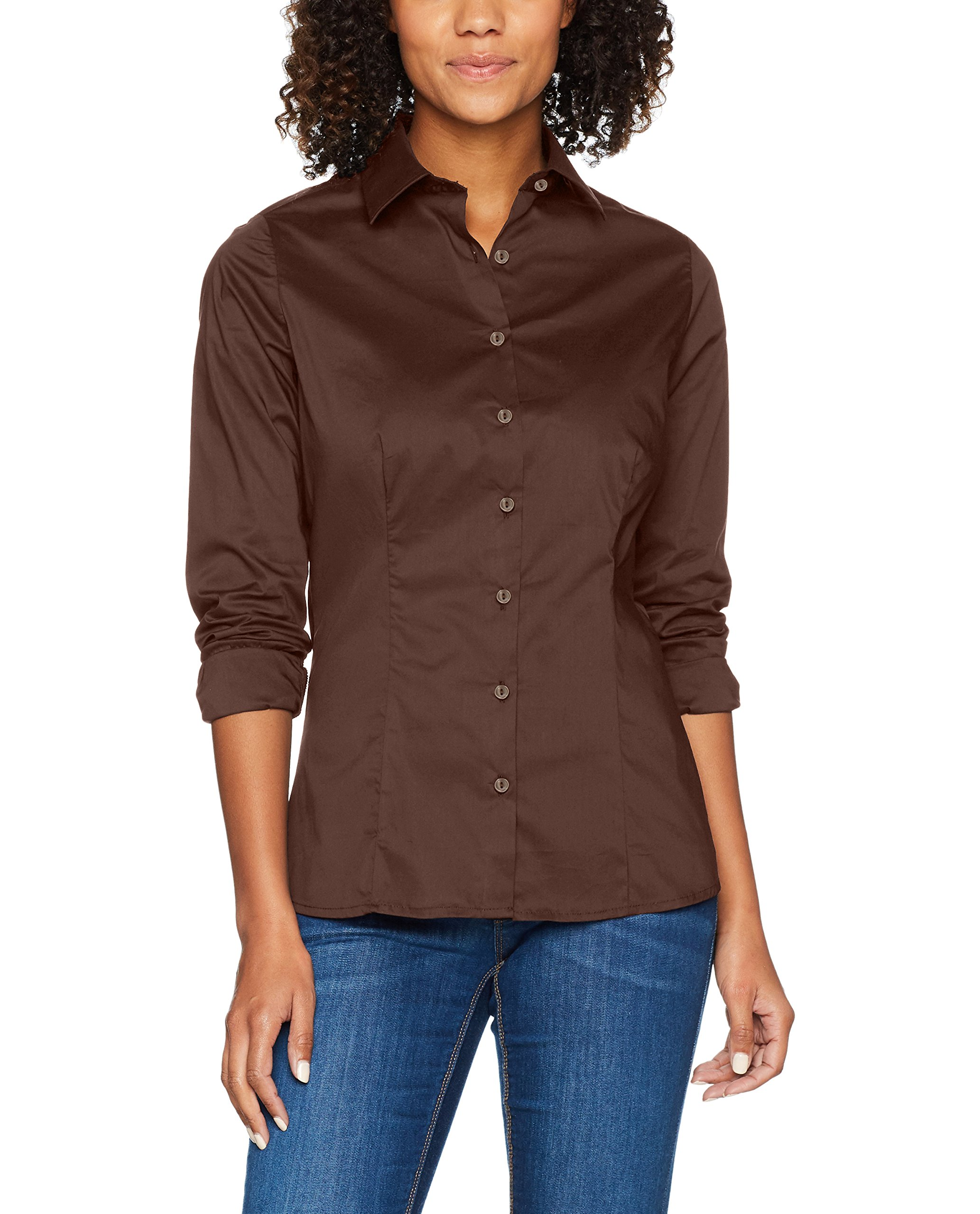 FabricantSmallFemme Nicholson Fit Jamesamp; Brown36taille BlouseMarron Ladies`shirt Du Slim FKJ1l3Tc