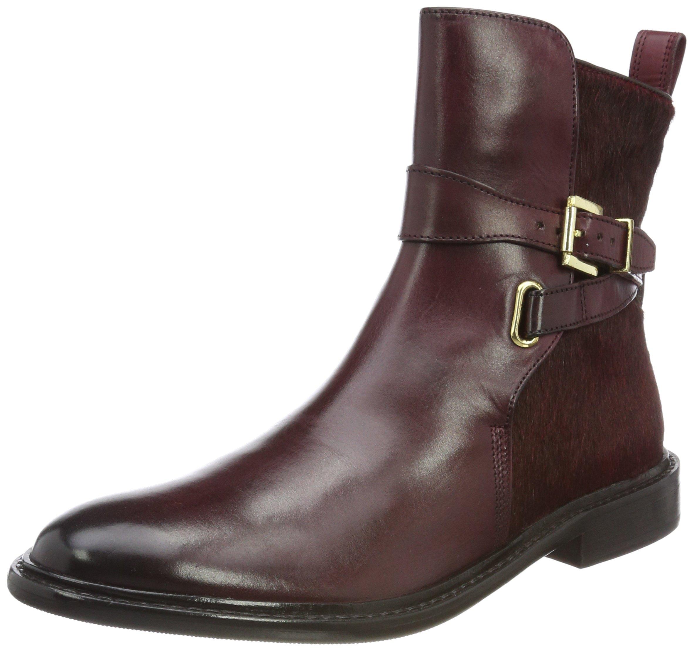 hrs hairon Burgundy Strap Hamilton Eu FemmeMarron Thick40 Melvinamp; Sole 64Chelsea Boots New Sally Crust wXTZOkuPi