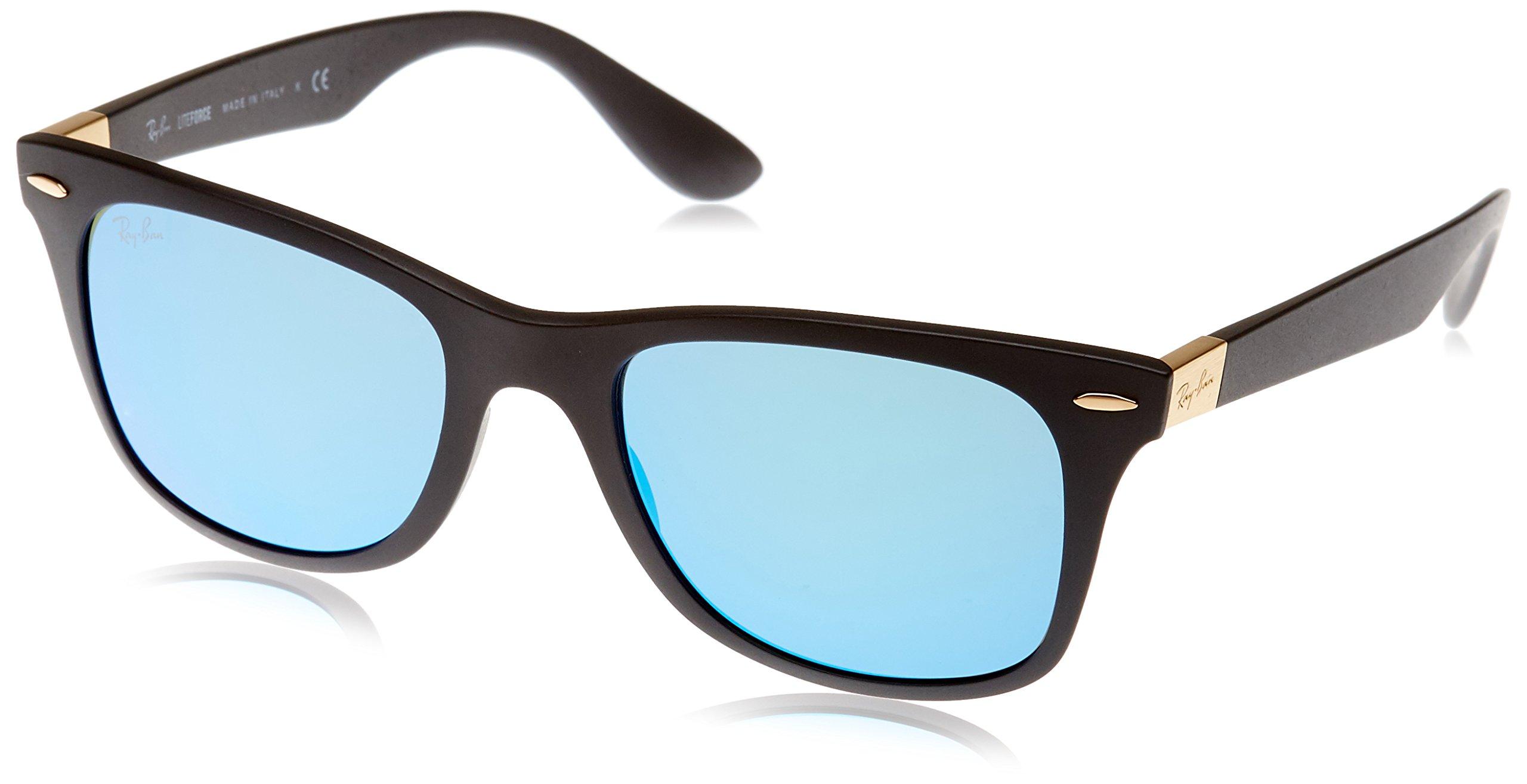 Montures De Homme Ray 4195 Black Flash52 ban LunettesNoirmatte blue SzpGUMqV