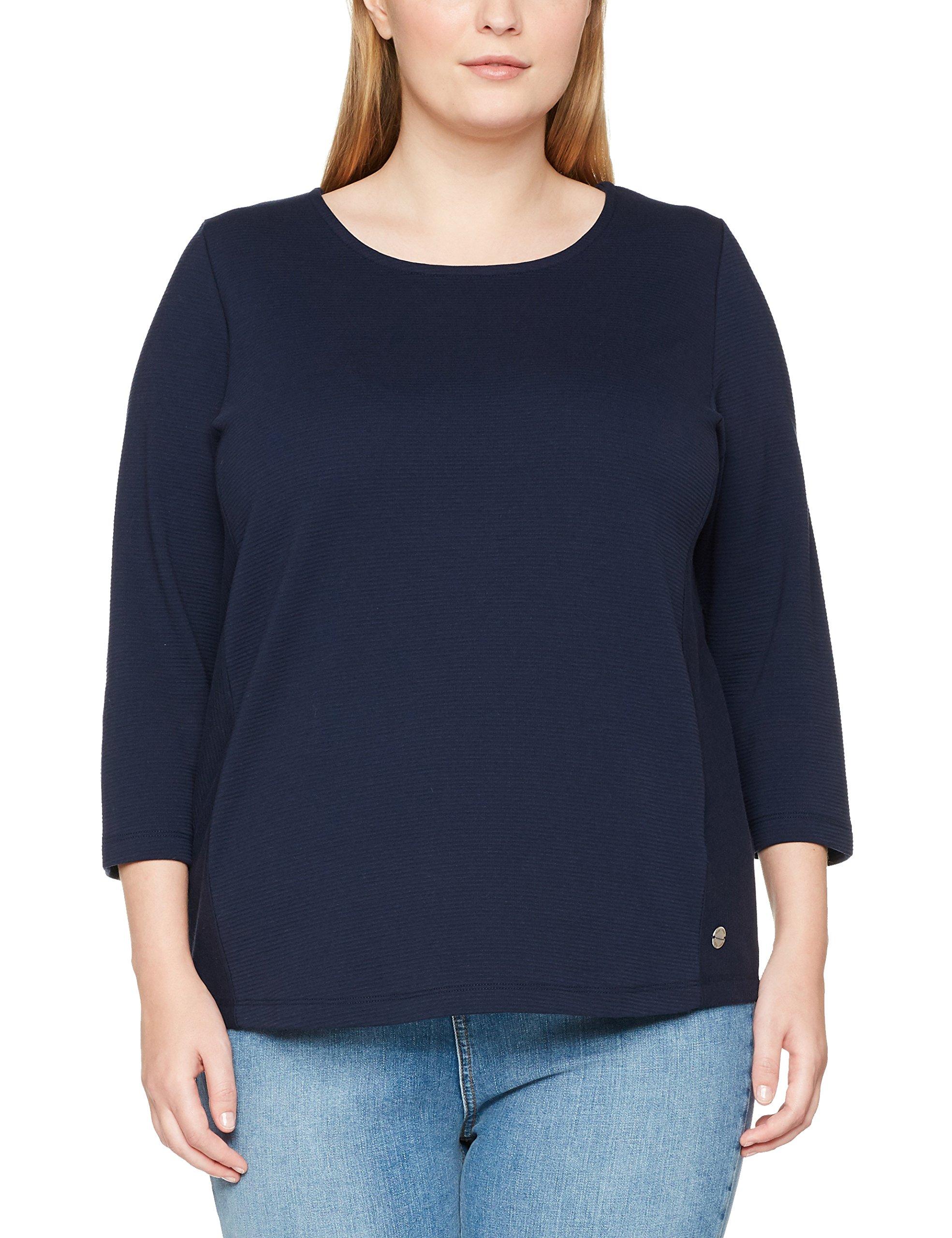 3 Sweatshirt Rundhals Frapp Arm shirtBleunavy Femme 4 Sweat 81454 oeBCrdx