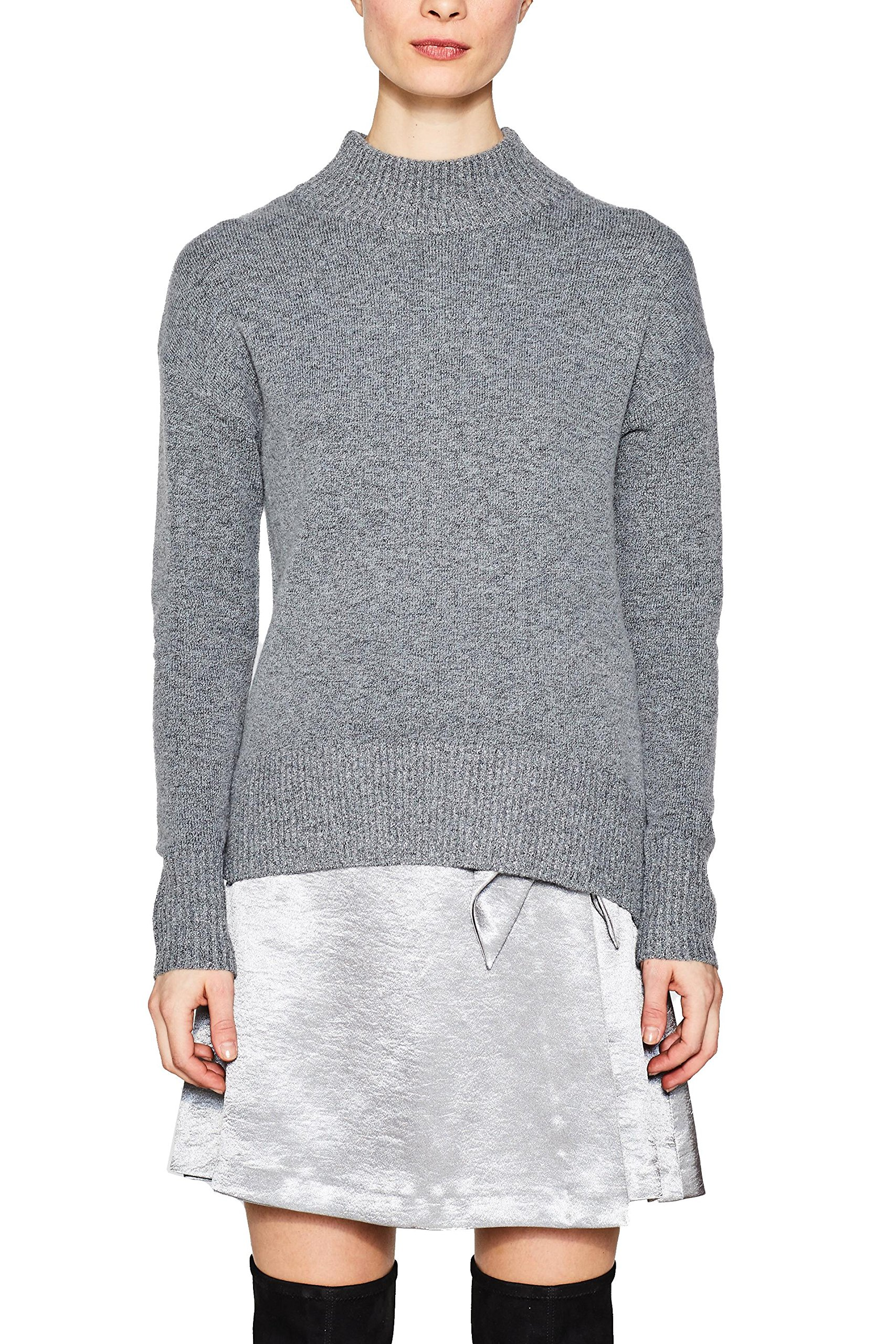 Grey Esprit 5 039Xx large 127ee1i017 Femme PullGrismedium lcKF13TJ