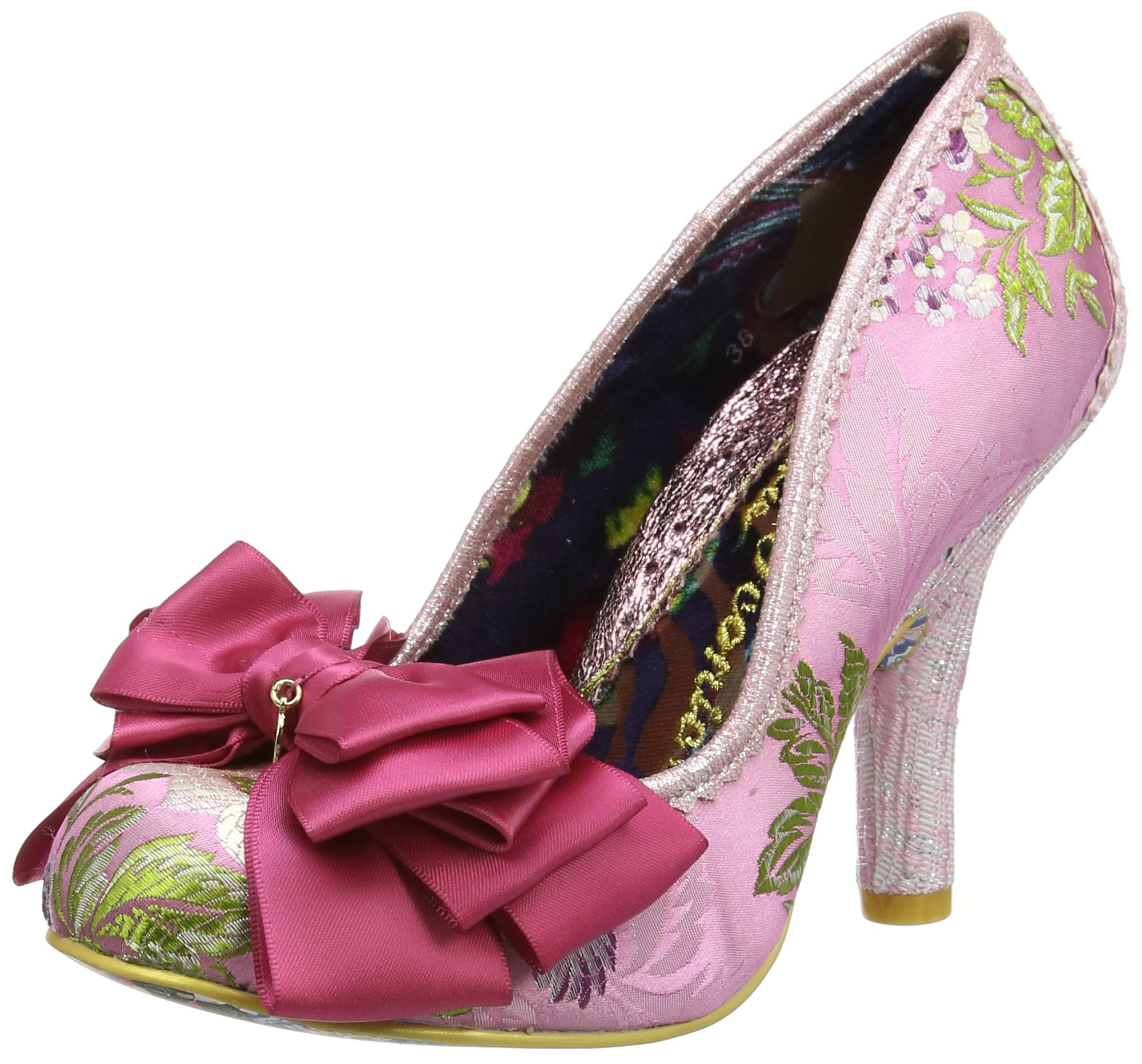Fermé FemmeRosepink 5 Uk AscotEscarpins Multi406 Irregular Choice Bout LS35ARjqc4