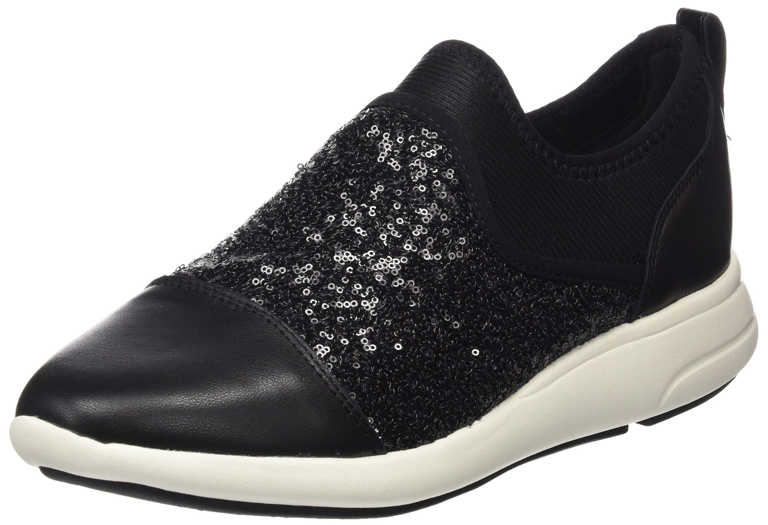 Geox Ophira BSneakers Eu D Basses FemmeNoirblack39 YEDHW29I