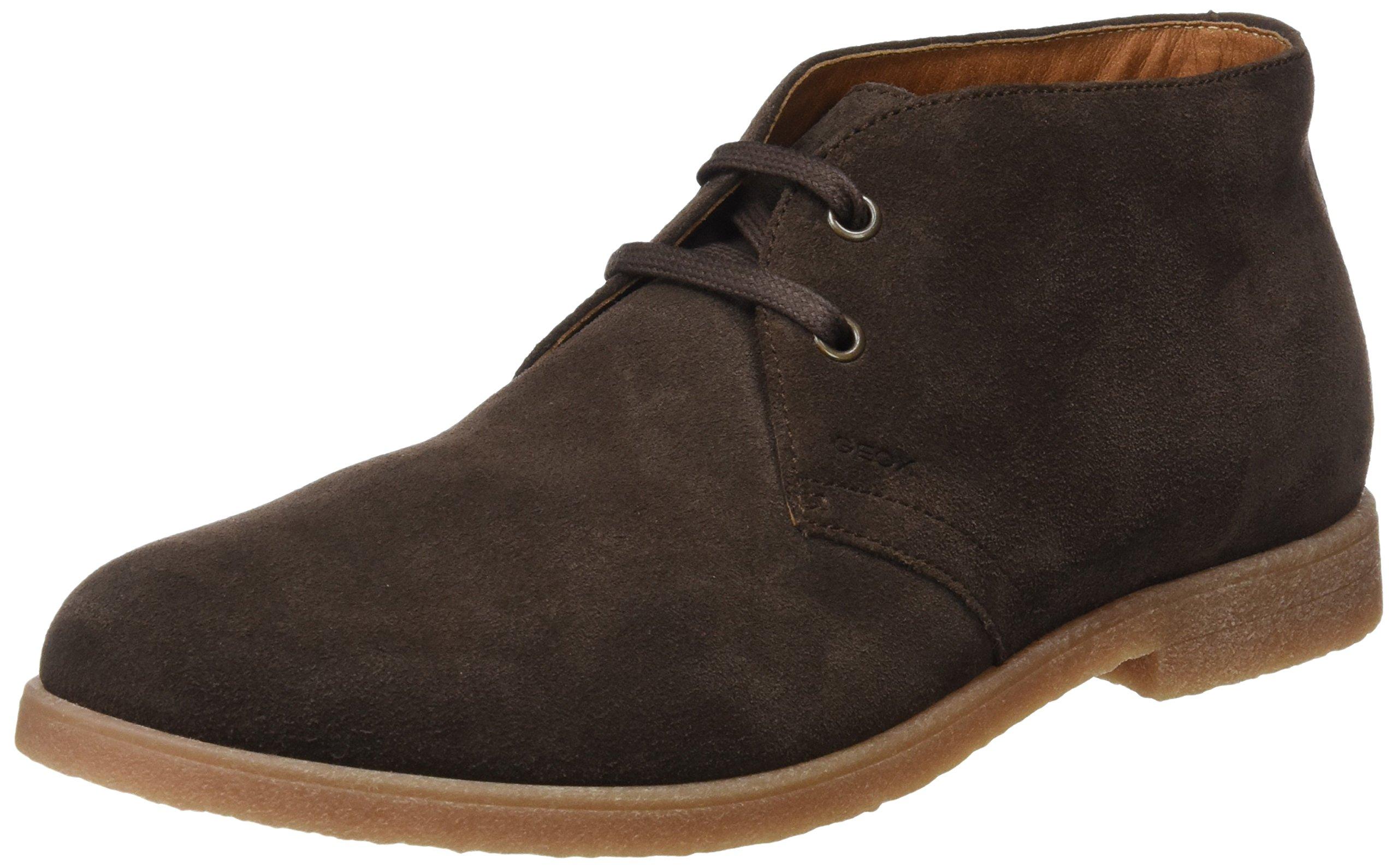 HommeMarronchocolate40 Geox ADesert Dwain Boots U Eu PkiXuZ