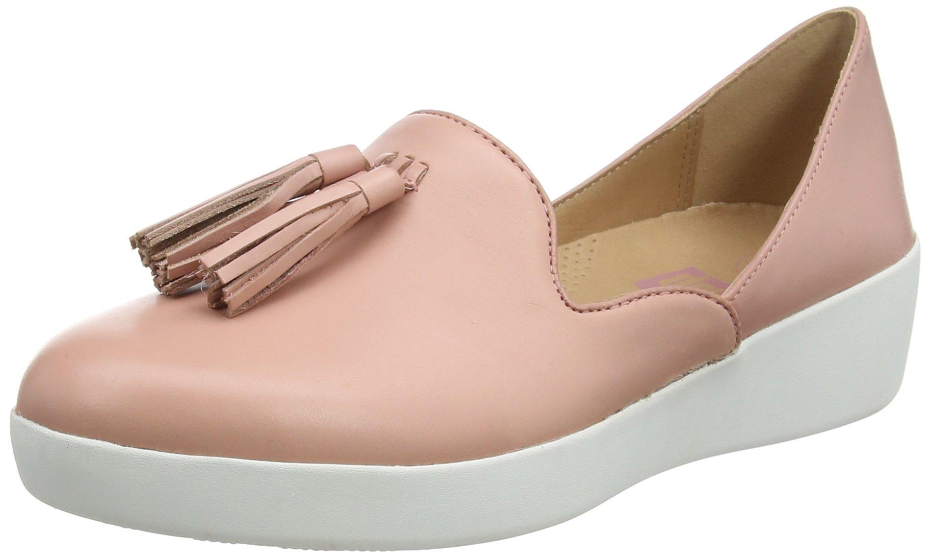 LoafersMocassins FemmeRosedusky 53536 Fitflop D'orsay Pink Superskate Tassel Eu J3lFKcT1