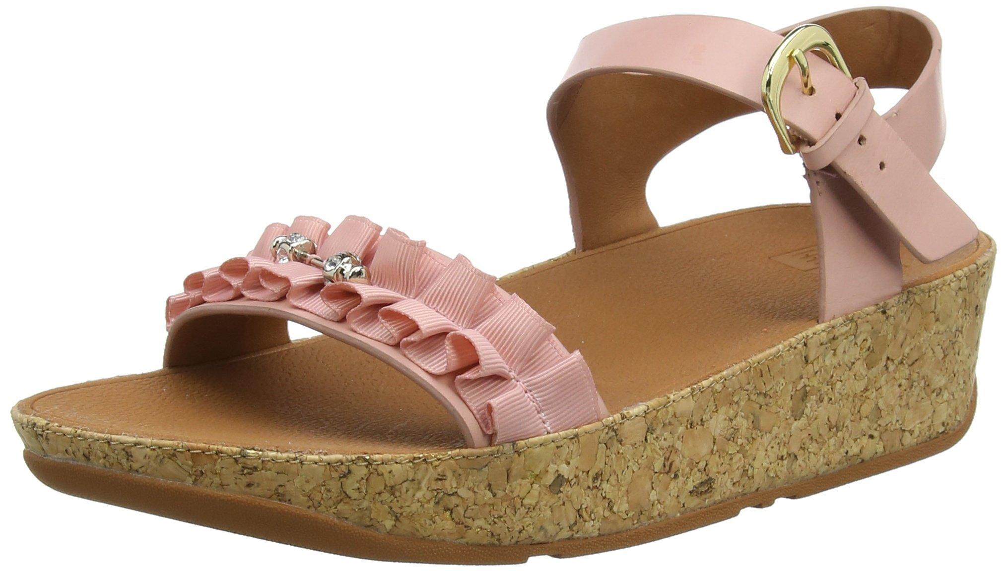 SandalsFemmeRosedusky Pink Back Fitflop Eu 53538 Ruffle strap Nv8wnOm0