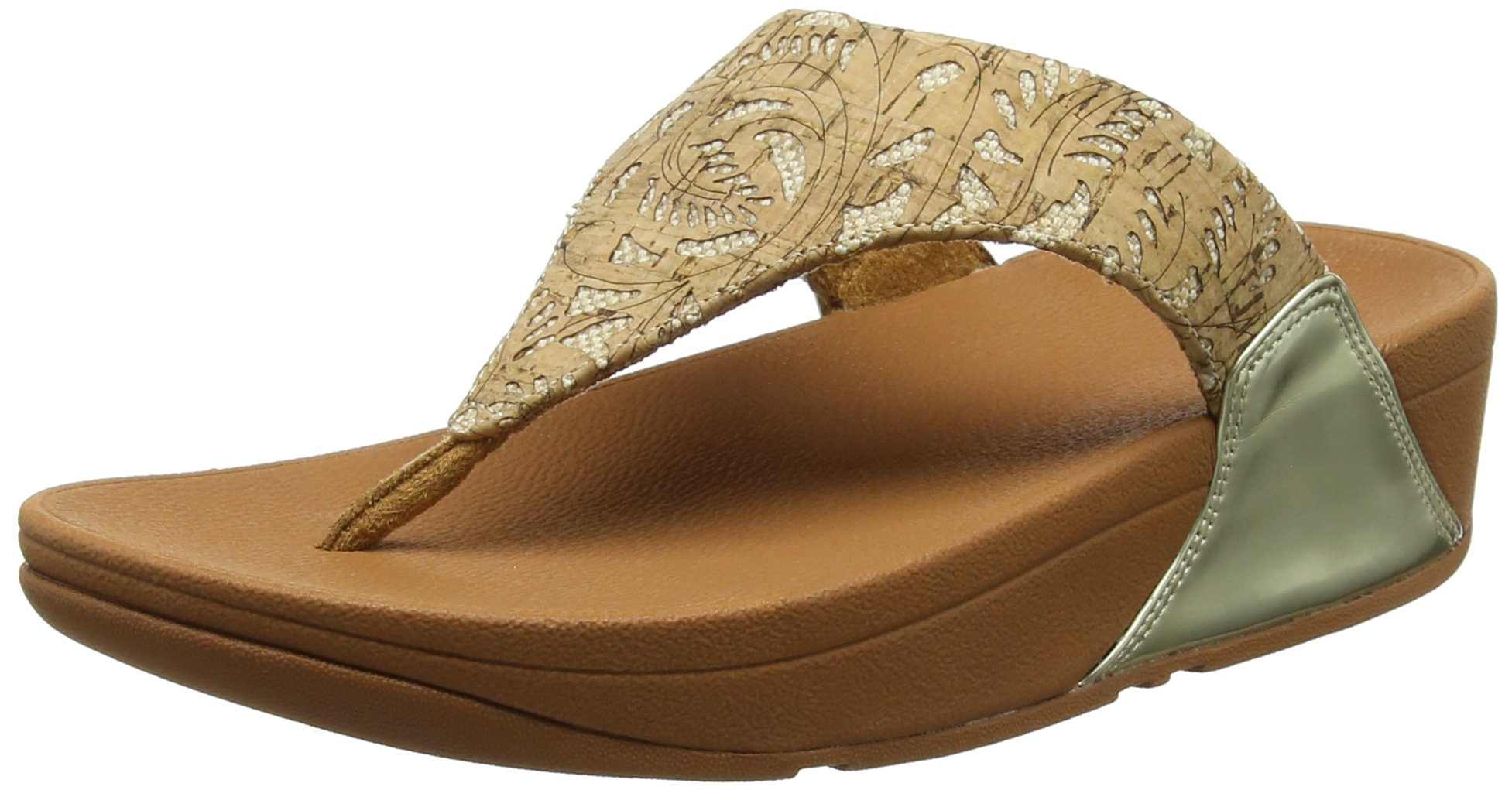 corkBout mirror FemmeMulticolore thong Ouvert Gold Eu 55339 Lulu Toe Fitflop Sandals by76Yfg