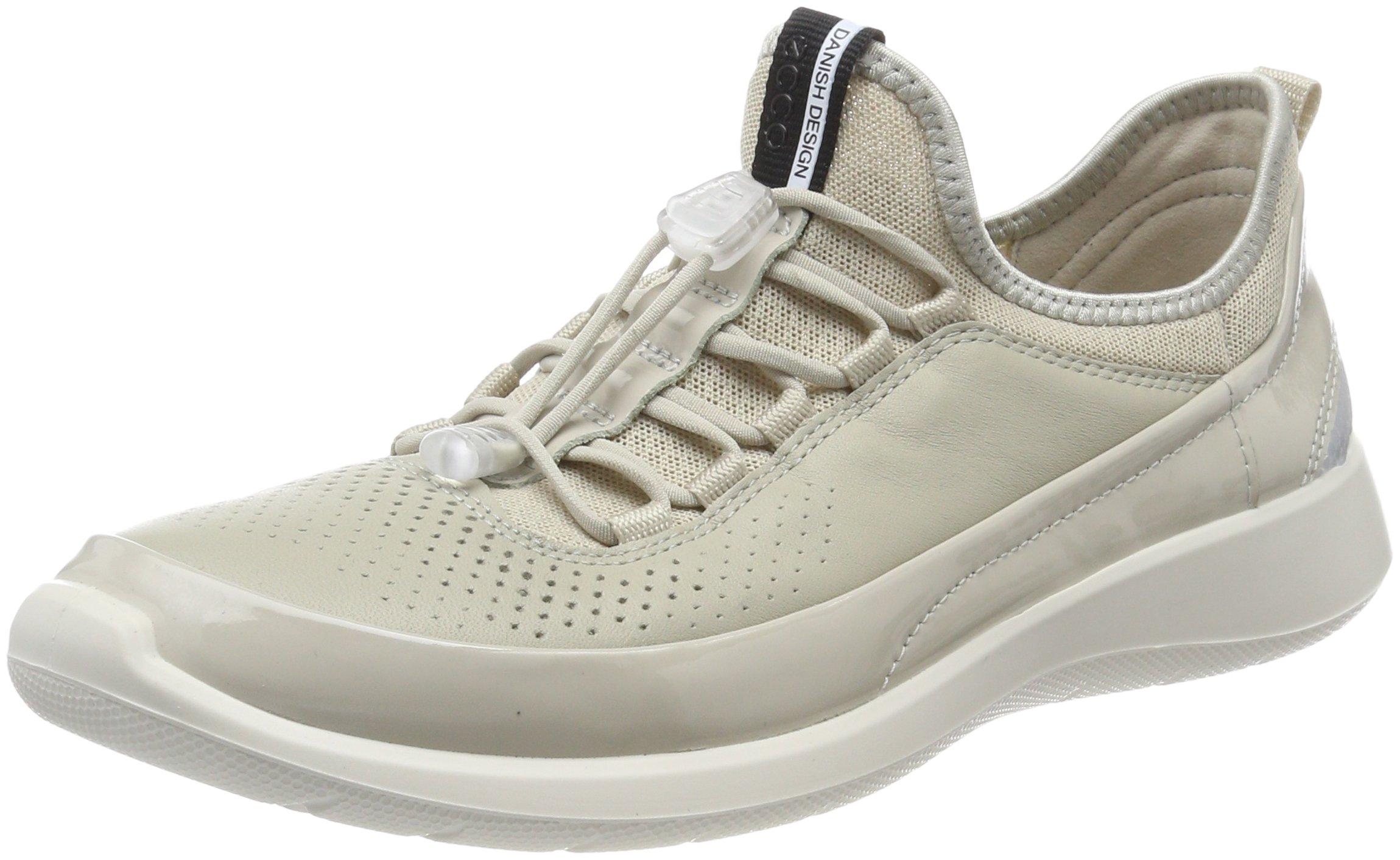 Basses Eu Soft FemmeBeige 5Sneakers Ecco gravel40 Oyster ZOPuikX