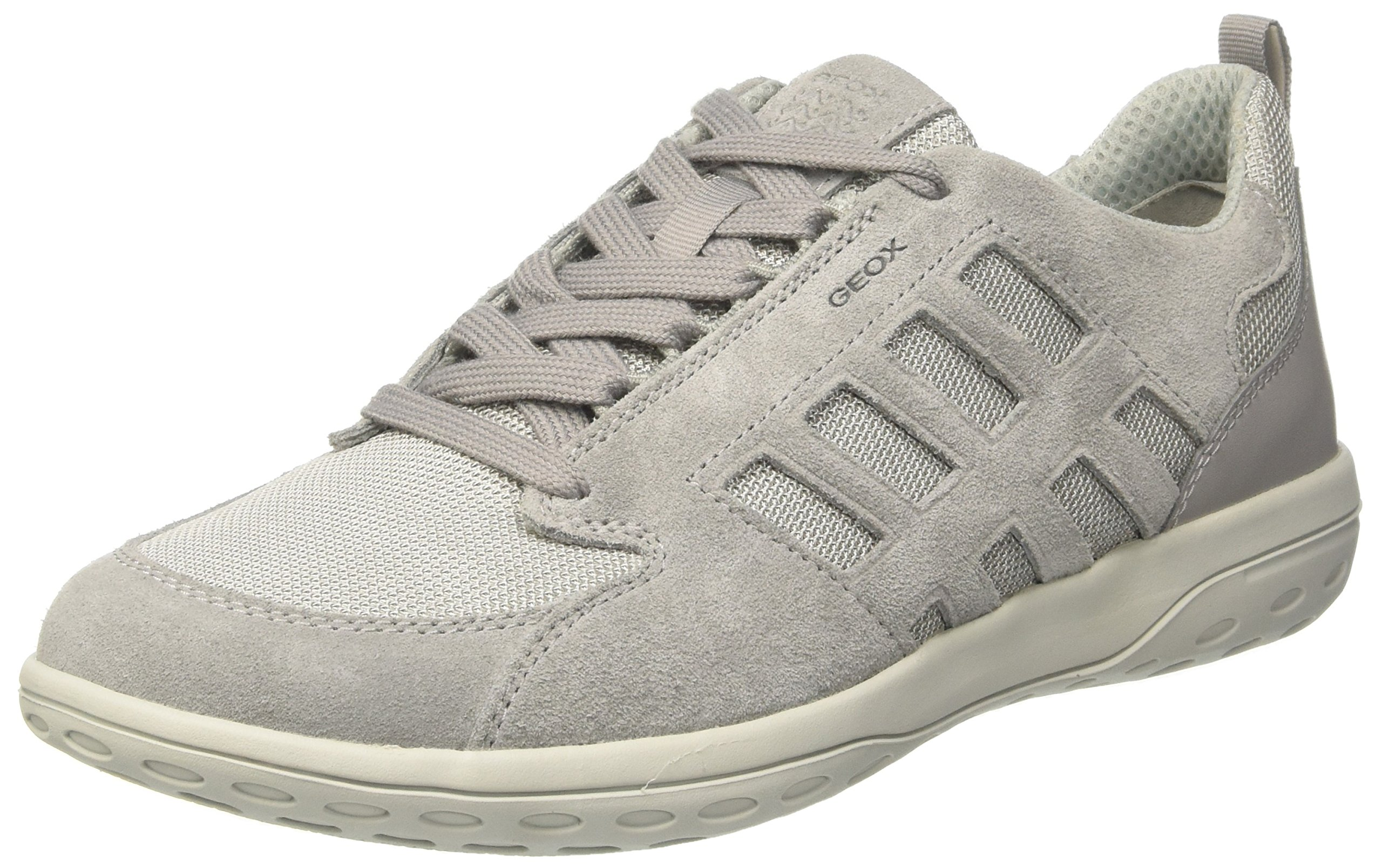 Mansel Grey40 ASneakers Geox Eu U Basses HommeGrislt XkZOliPuwT