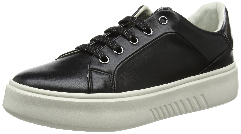 ASneakers Eu Basses Geox Nhenbus D FemmeNoirblack38 m8wOyvn0N